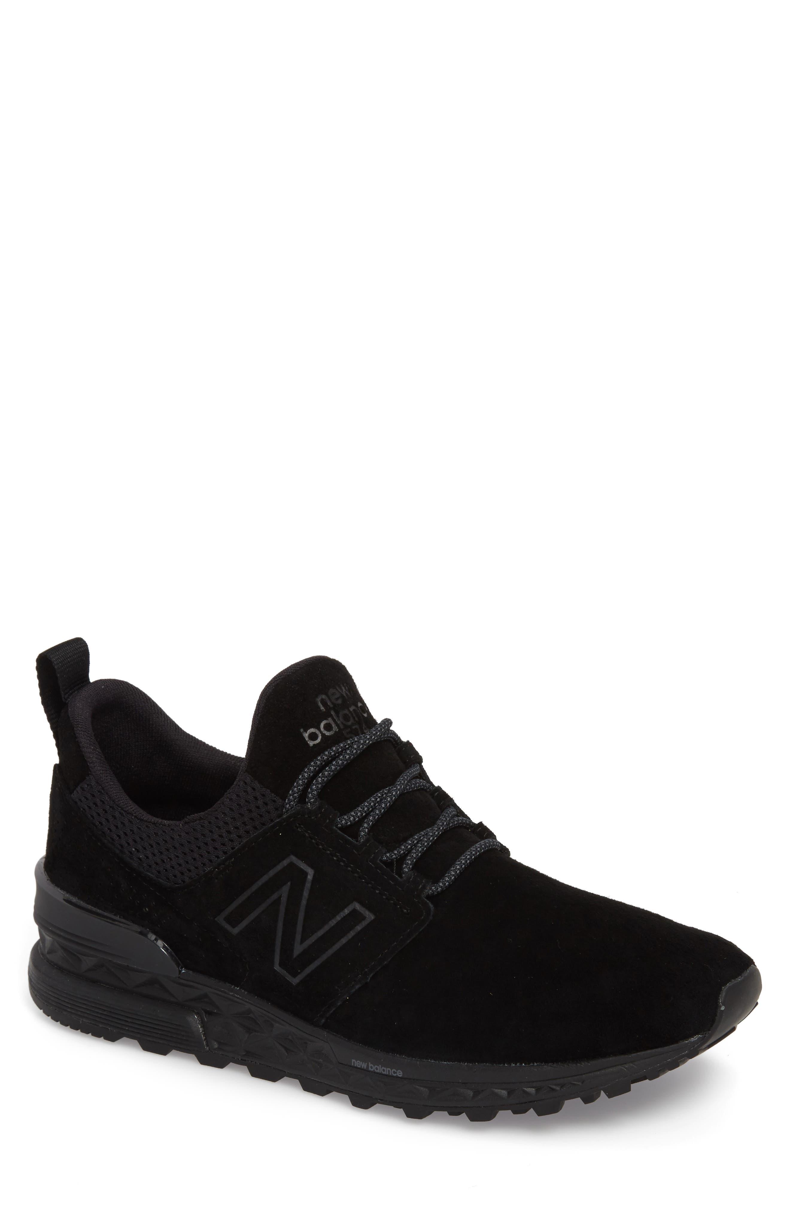 574 Decon Sneaker,                         Main,                         color, Black