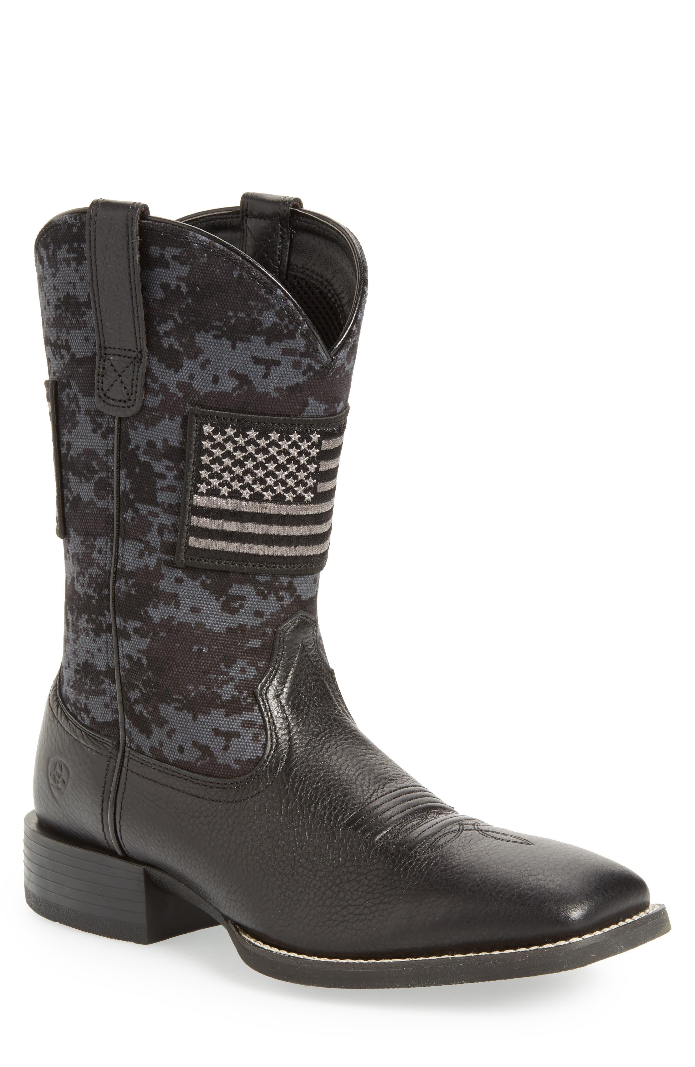 Ariat Sport Patriot Cowboy Boot (Men)