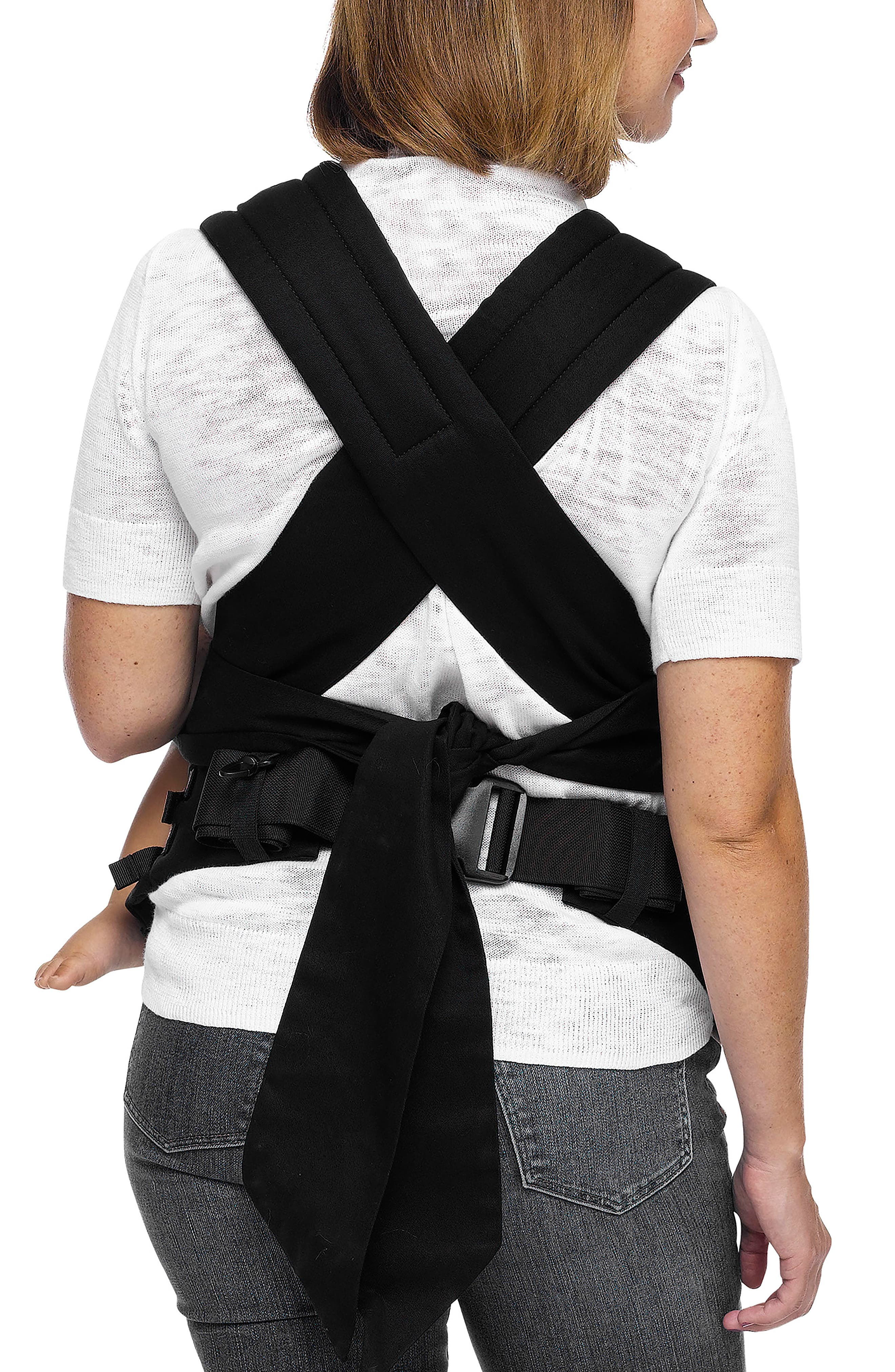 Wrap Buckle Baby Carrier,                             Alternate thumbnail 3, color,                             Stripes