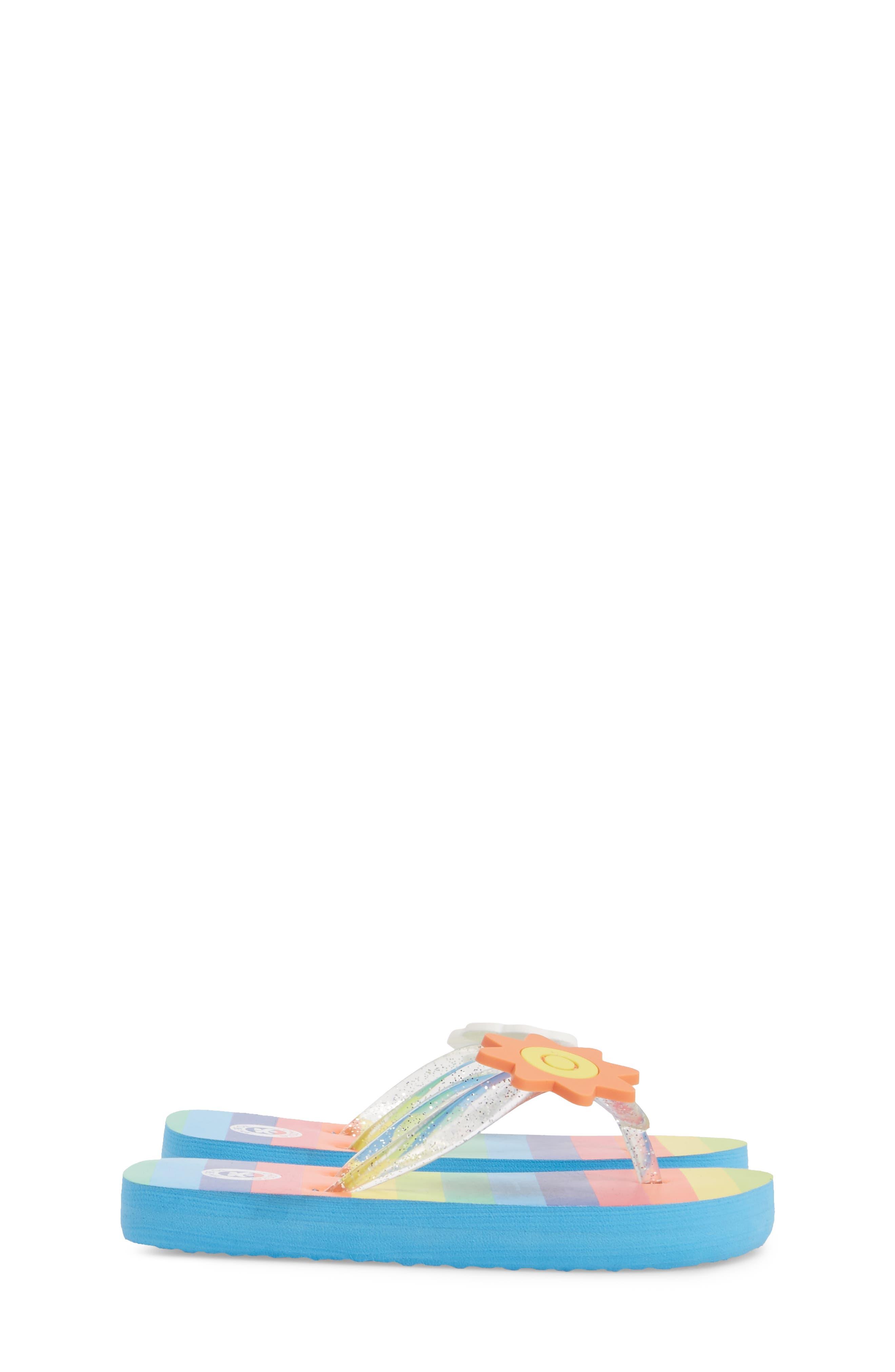 Print Flip Flop,                             Alternate thumbnail 4, color,                             Lucky