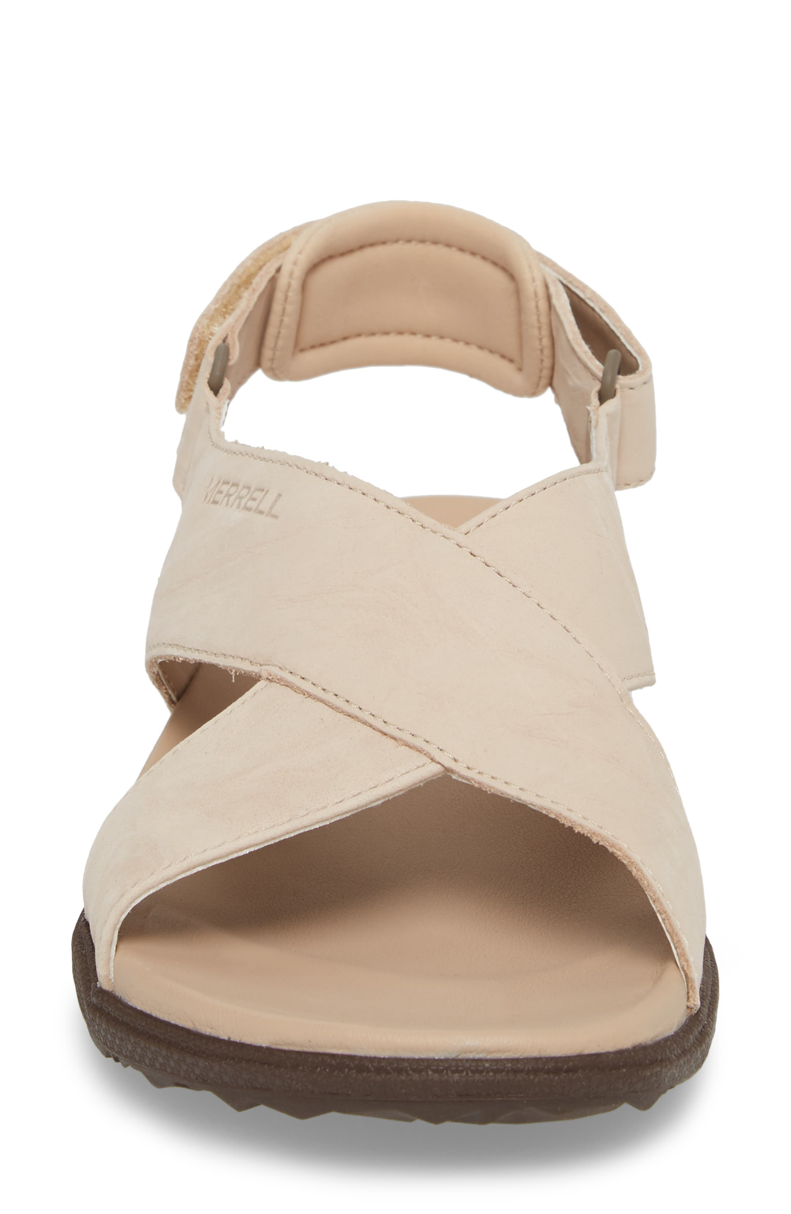 Around Town Sunvue Sandal,                             Alternate thumbnail 4, color,                             Natural Tan