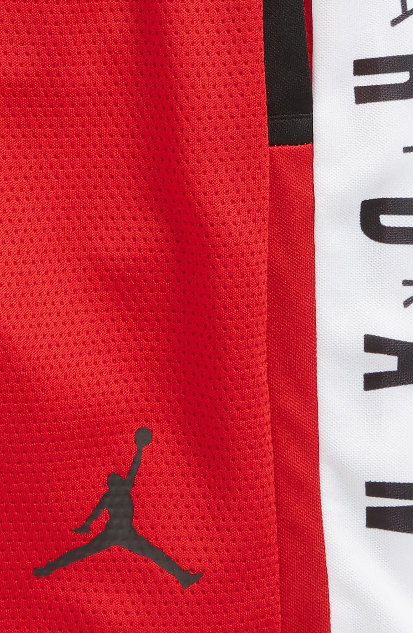 Jordan Rise Graphic Shorts,                             Alternate thumbnail 2, color,                             Gym Red