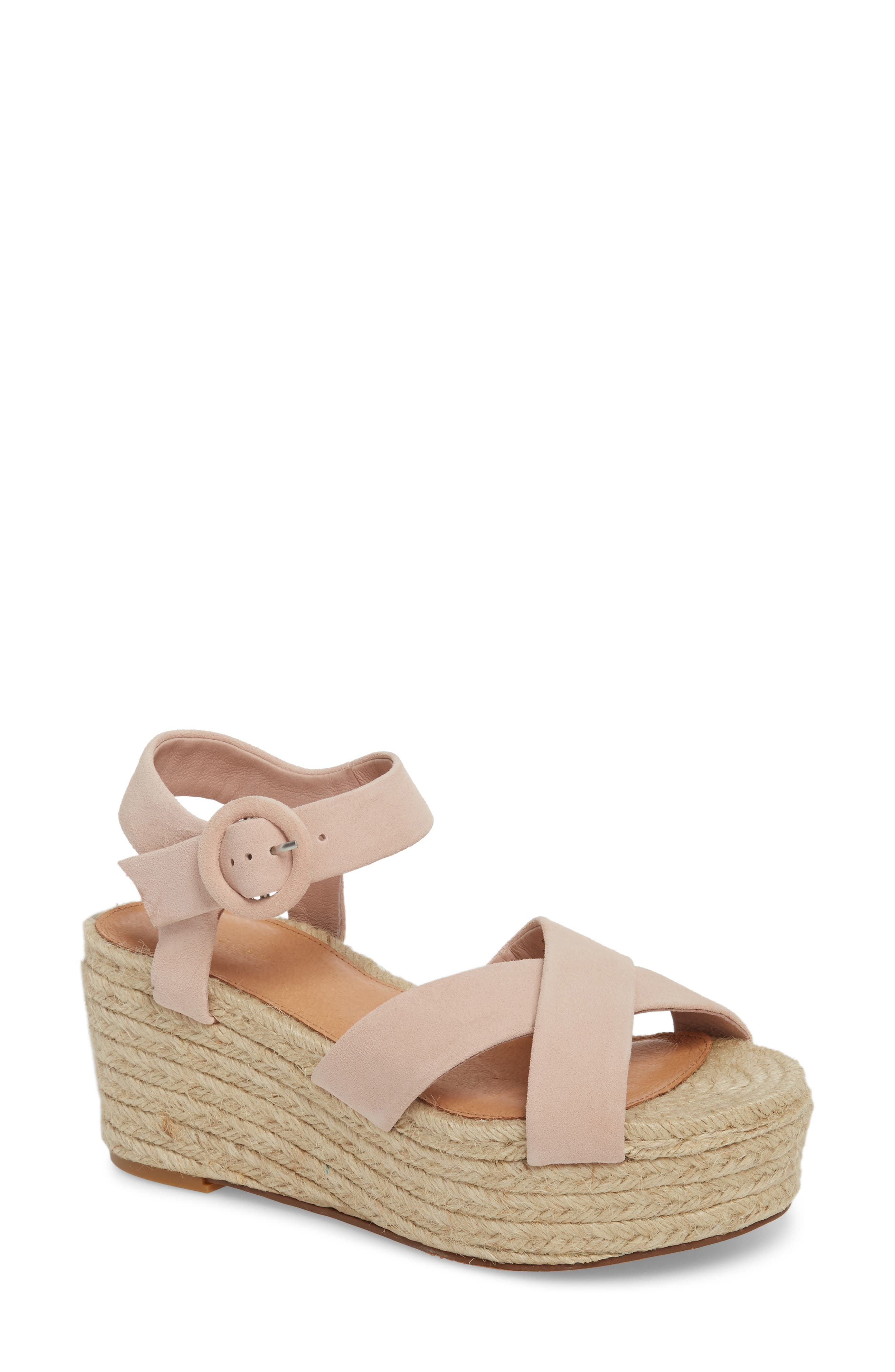 Sale Easy Street Gold Sandals Women's Wedge Havana Wedge Sandal Cork At Canada on sale