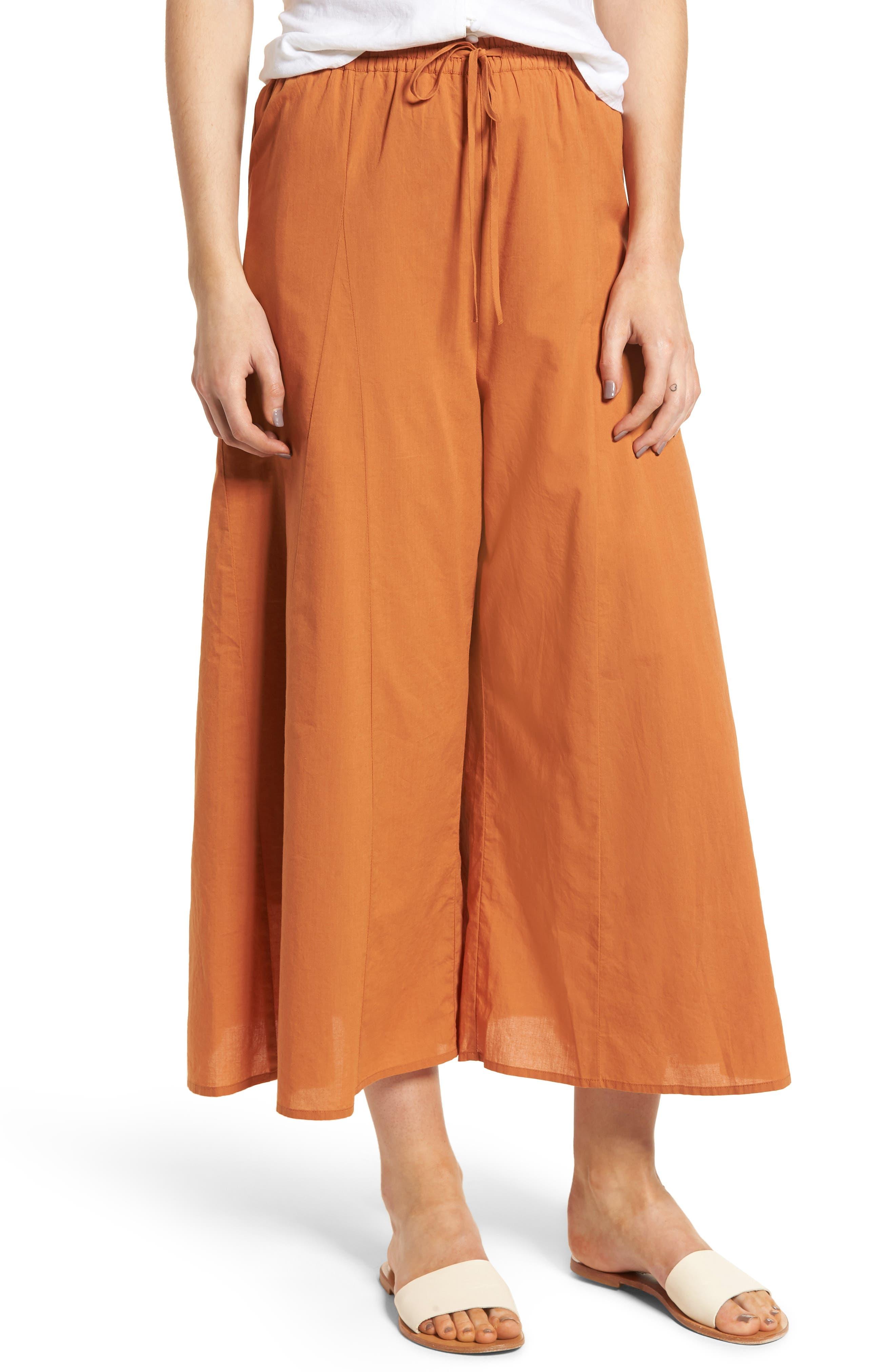 BP. Wide Leg Cotton Pants
