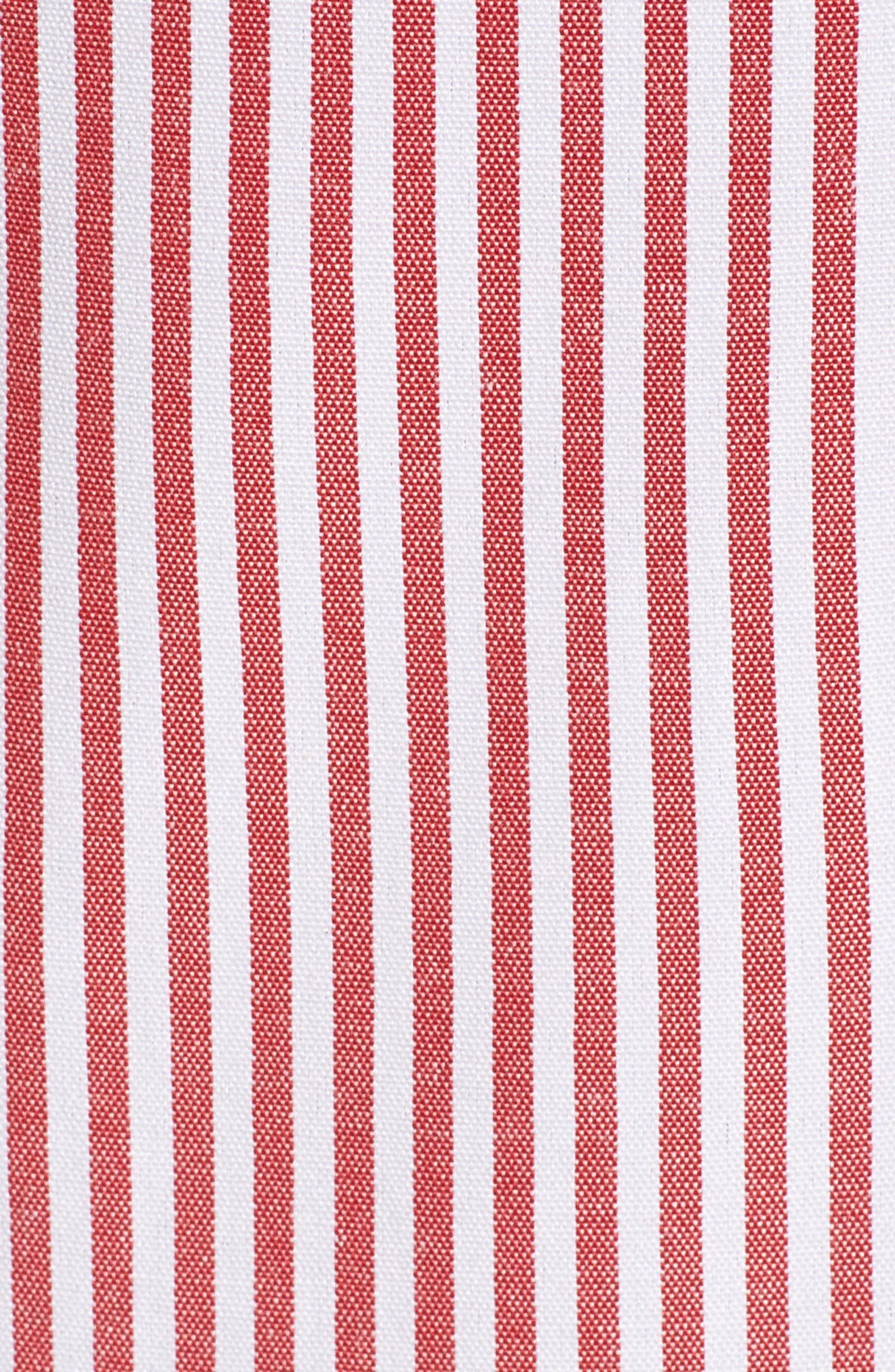 Naples Ruffle Skirt,                             Alternate thumbnail 5, color,                             Red Stripe