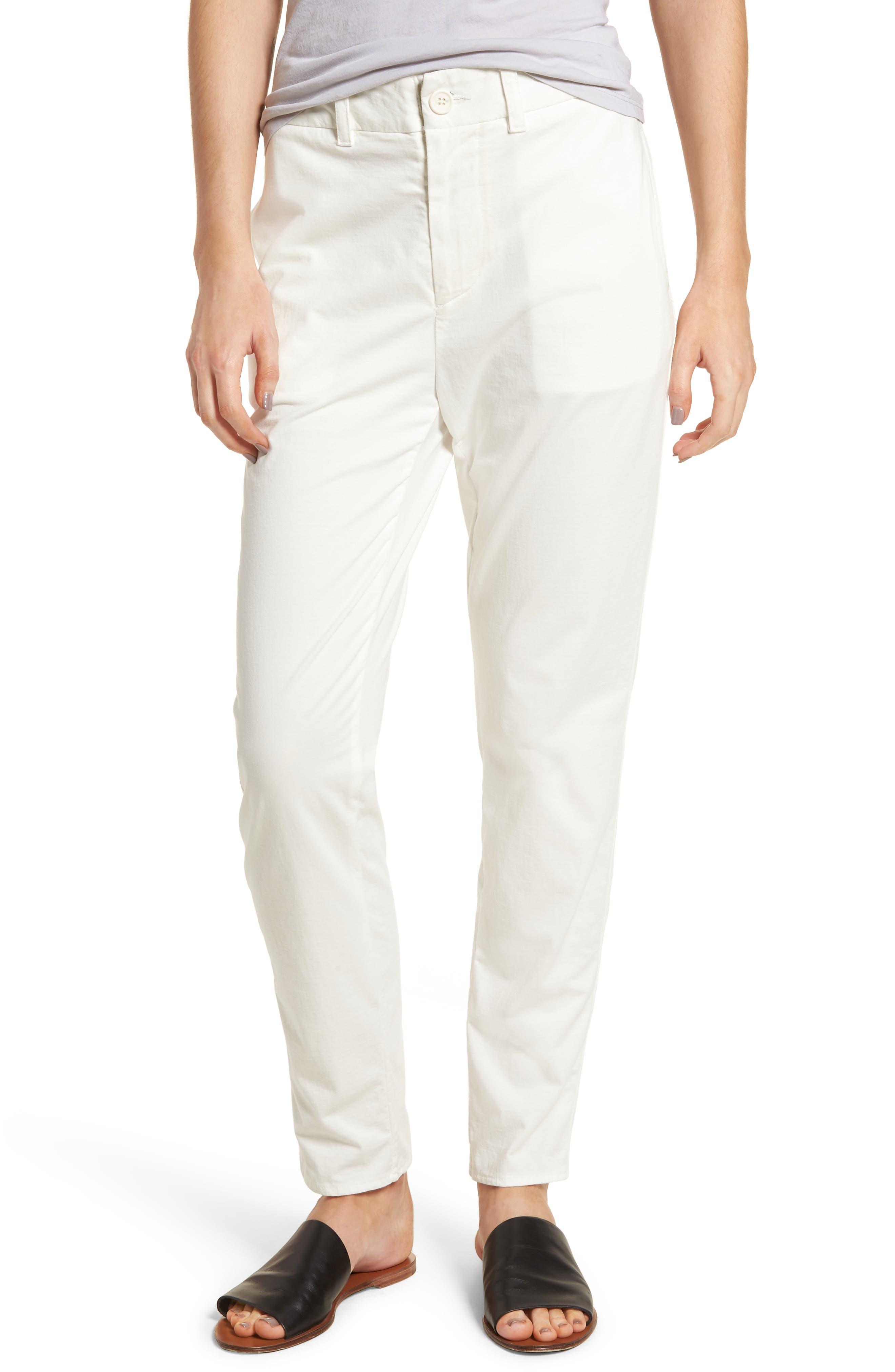 Full Surplus Jersey Pants,                         Main,                         color, White