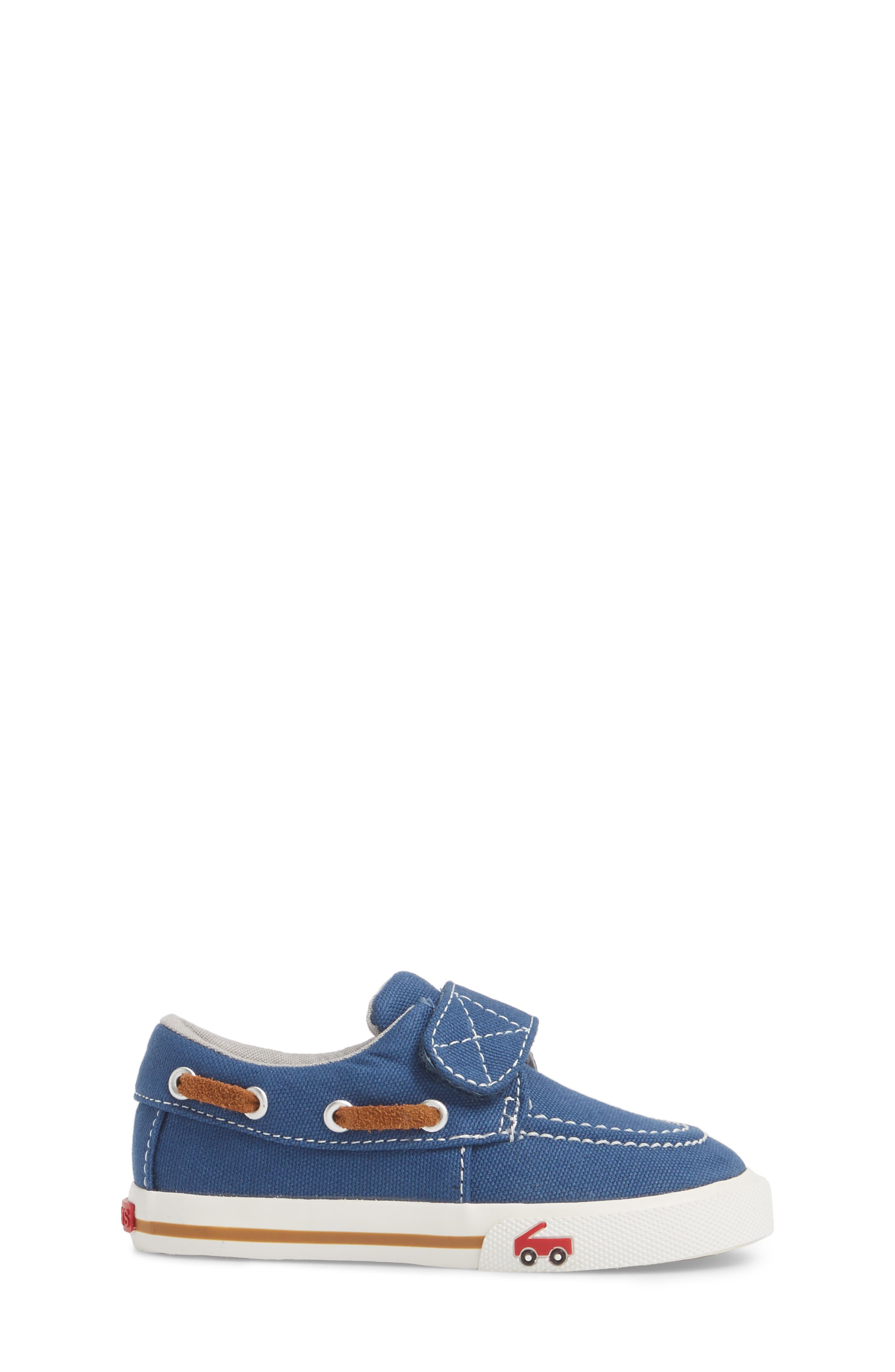 Elias Sneaker,                             Alternate thumbnail 3, color,                             Blue