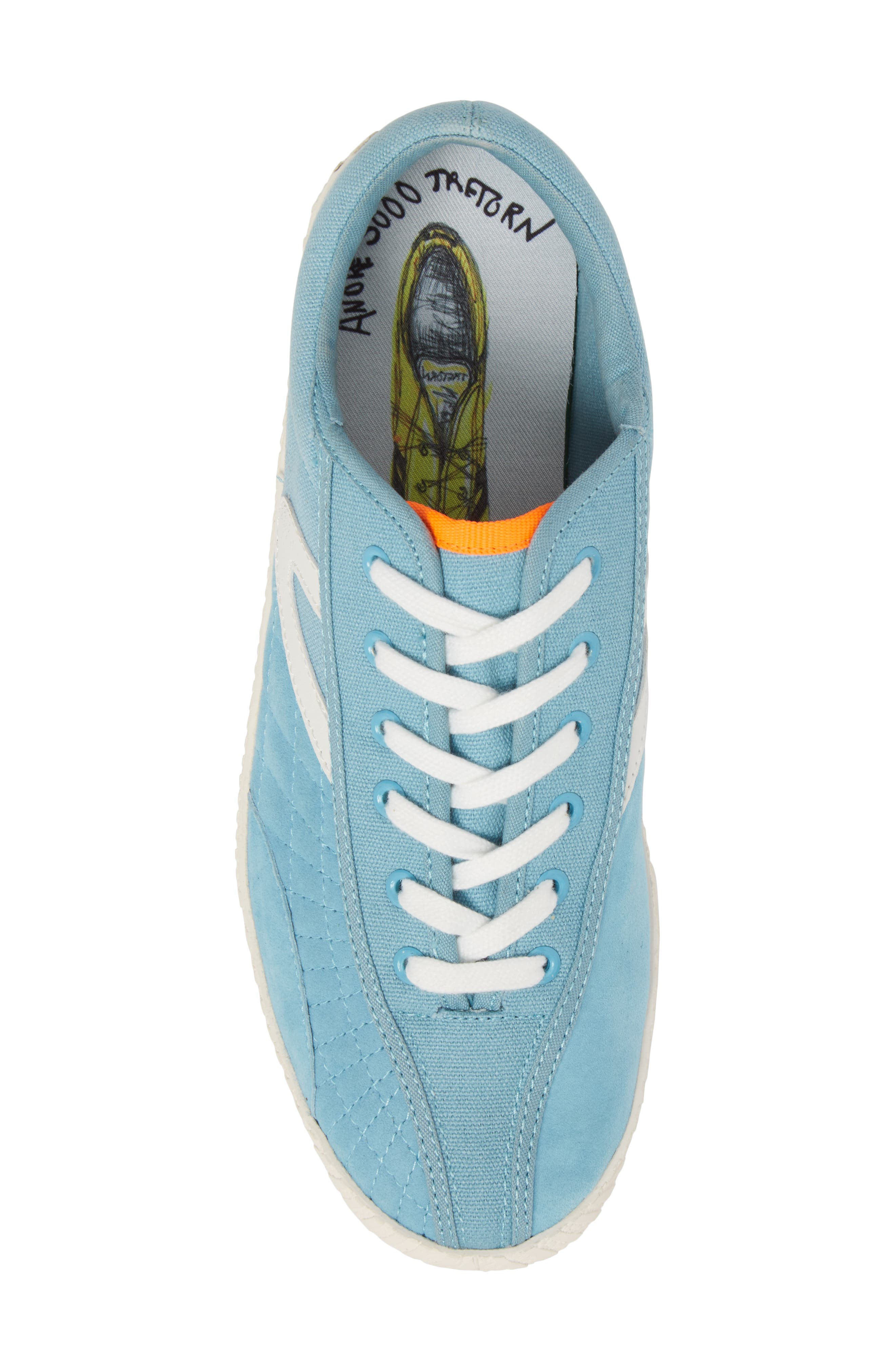 Andre 3000 Nylite Low Top Sneaker,                             Alternate thumbnail 5, color,                             Baby Blue Canvas