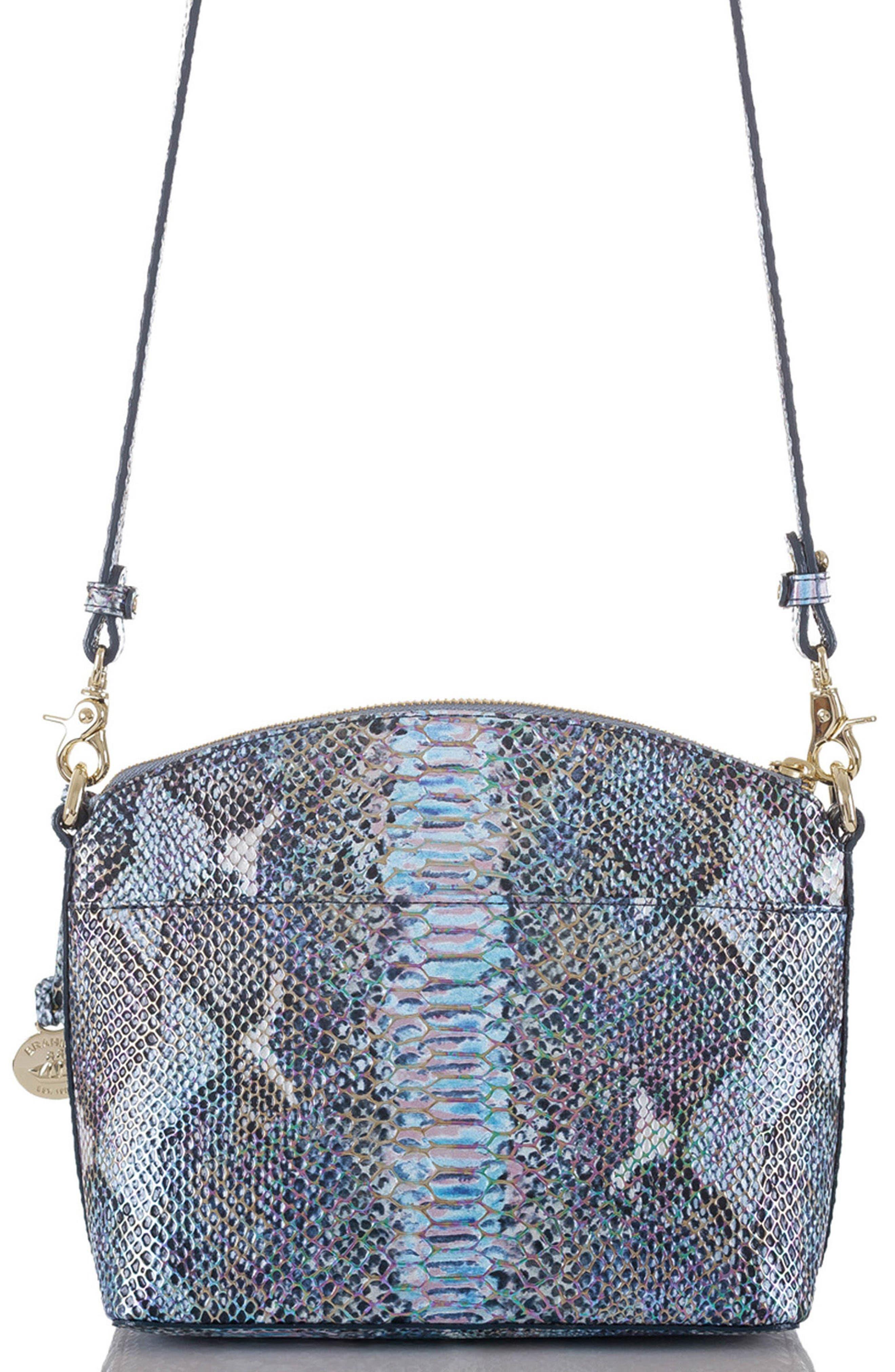 'Mini Duxbury' Crossbody Bag,                             Alternate thumbnail 2, color,                             Marine Seville