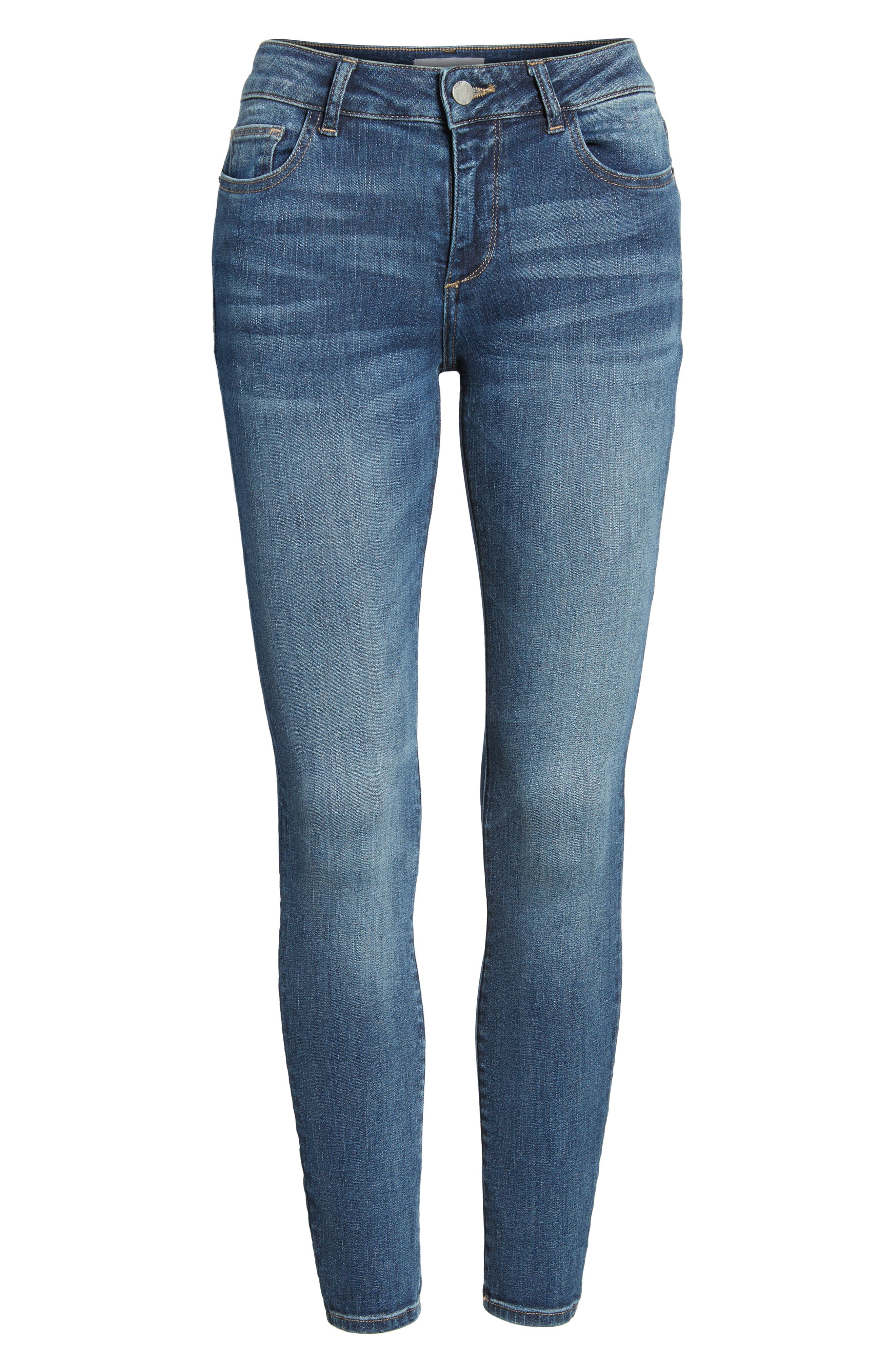 Margaux Instasculpt Ankle Skinny Jeans,                             Alternate thumbnail 7, color,                             Paramount
