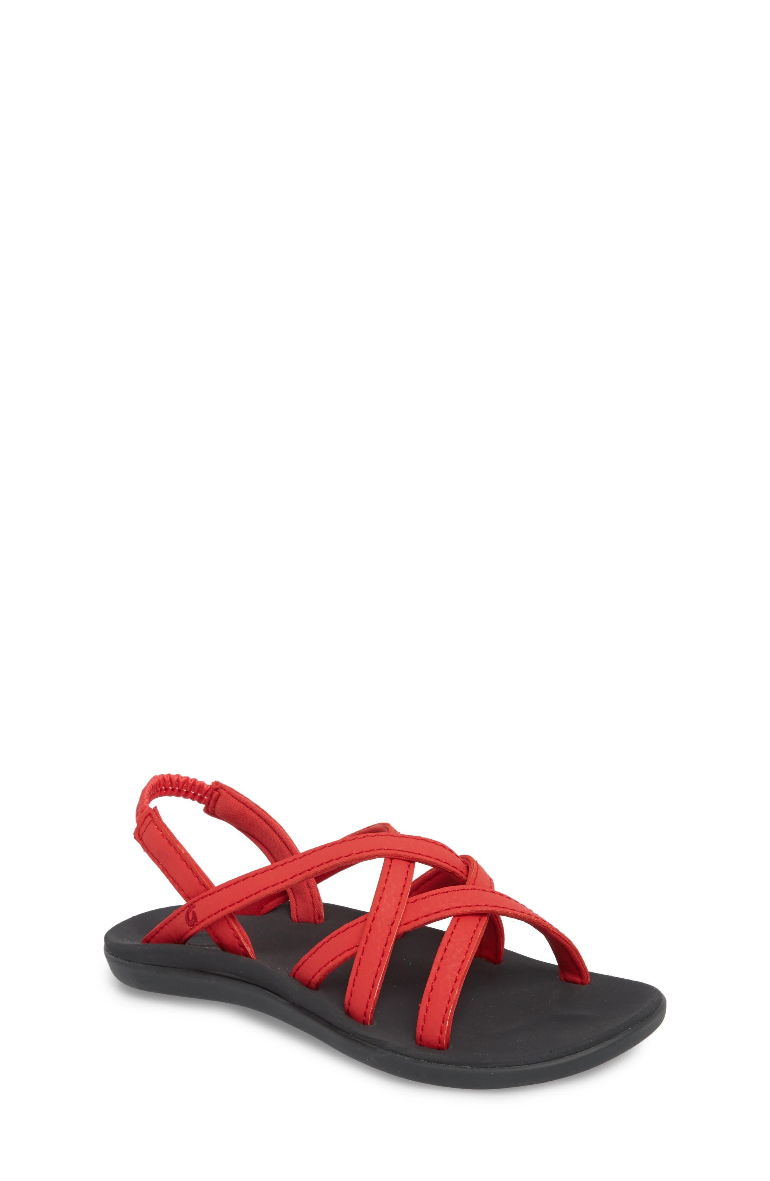 Kalapu Sandal,                         Main,                         color, Hibiscus/ Dark Shadow