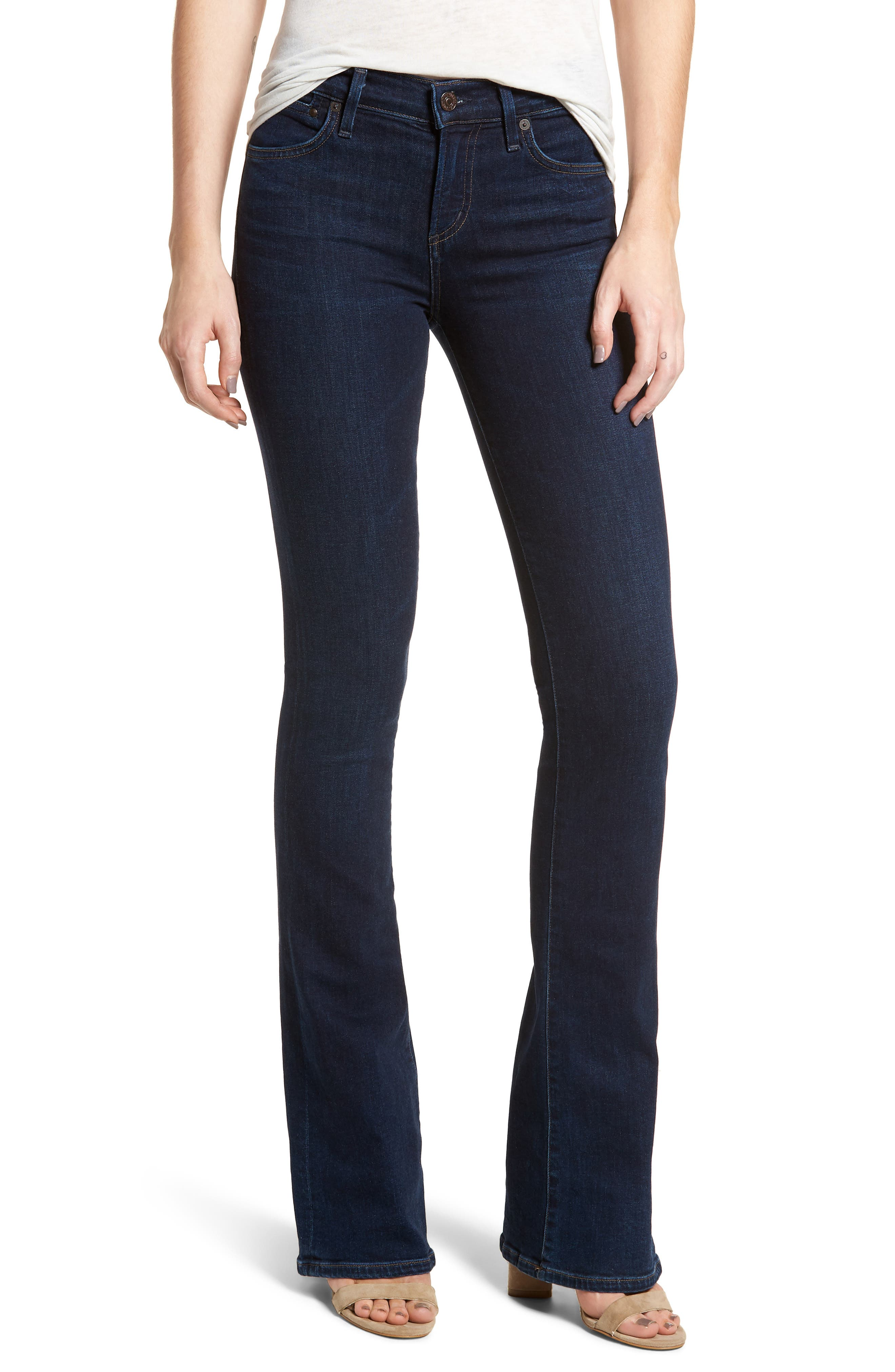 Emannuelle Bootcut Jeans,                             Main thumbnail 1, color,                             Galaxy