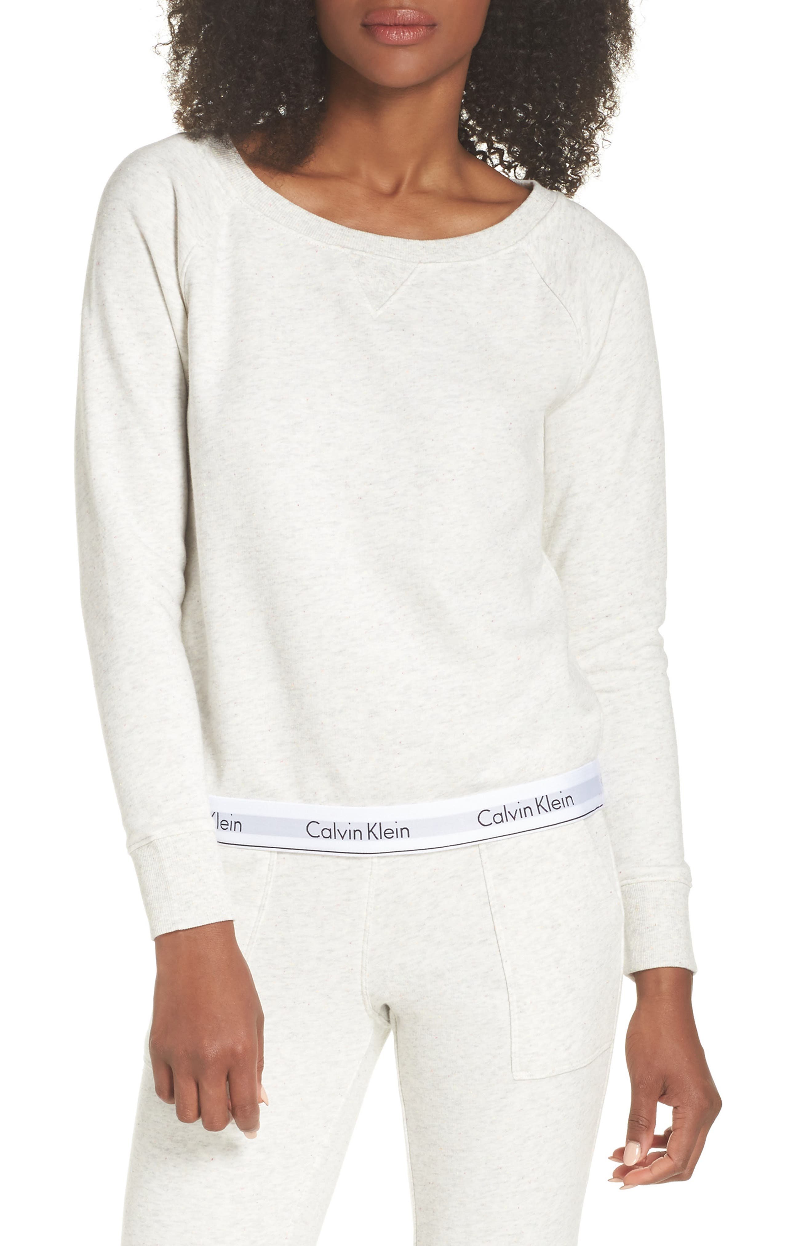 Beige Calvin Klein Sweatshirt