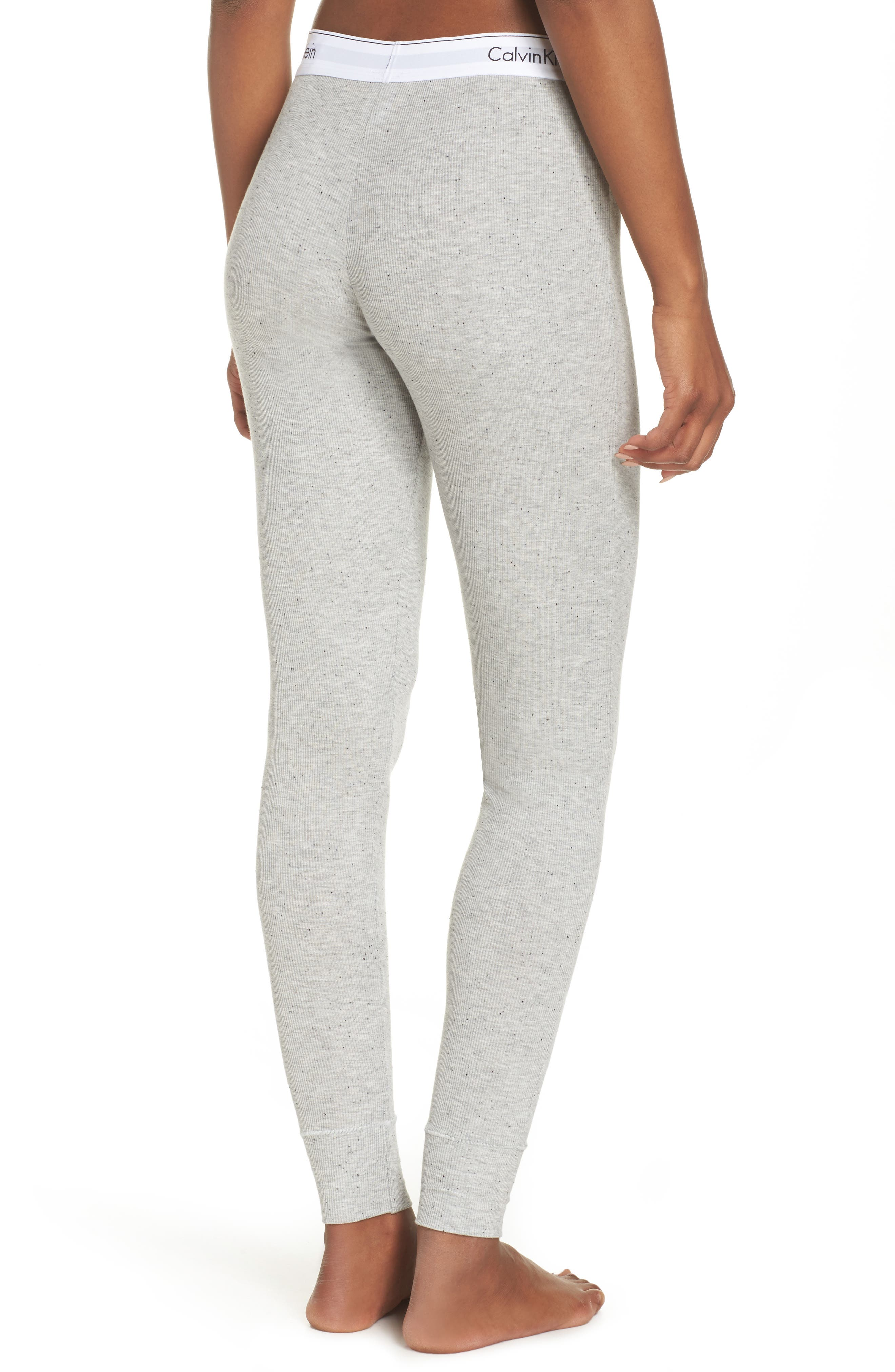 Lounge Leggings,                             Alternate thumbnail 2, color,                             Graphic Rib Grey Heather