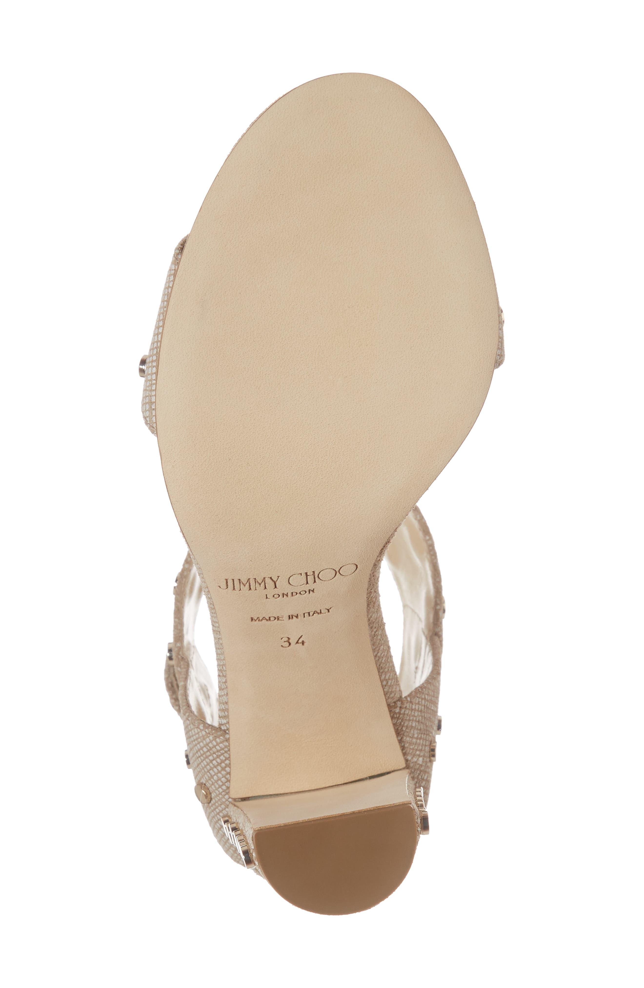 Alternate Image 6  - Jimmy Choo Veto Studded Ankle Cuff Sandal (Women)