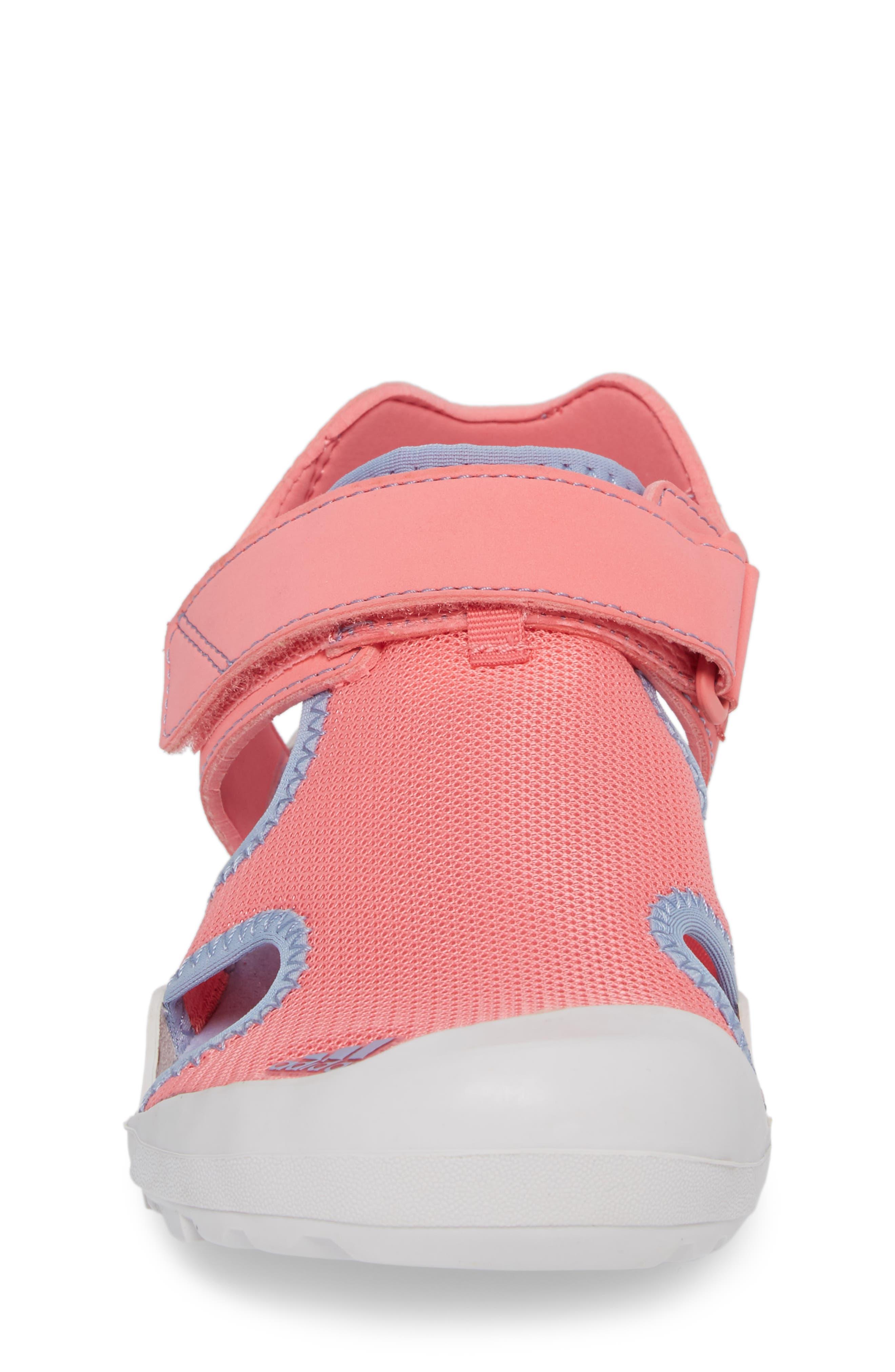 'Captain Toey' Sandal,                             Alternate thumbnail 4, color,                             Chalk Pink/ Chalk Blue/ Grey