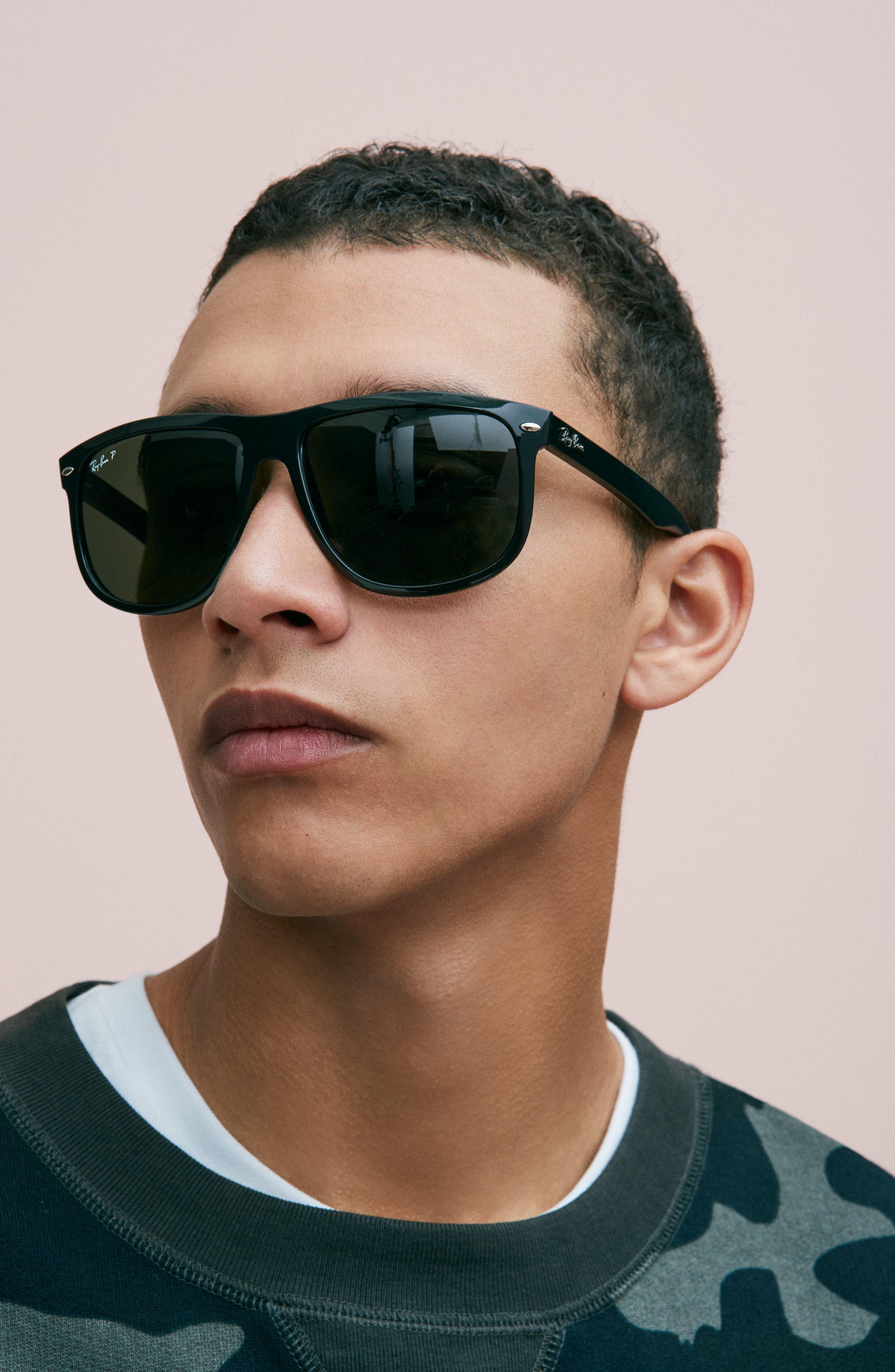 Alternate Image 5  - Ray-Ban 'Boyfriend' 60mm Polarized Sunglasses