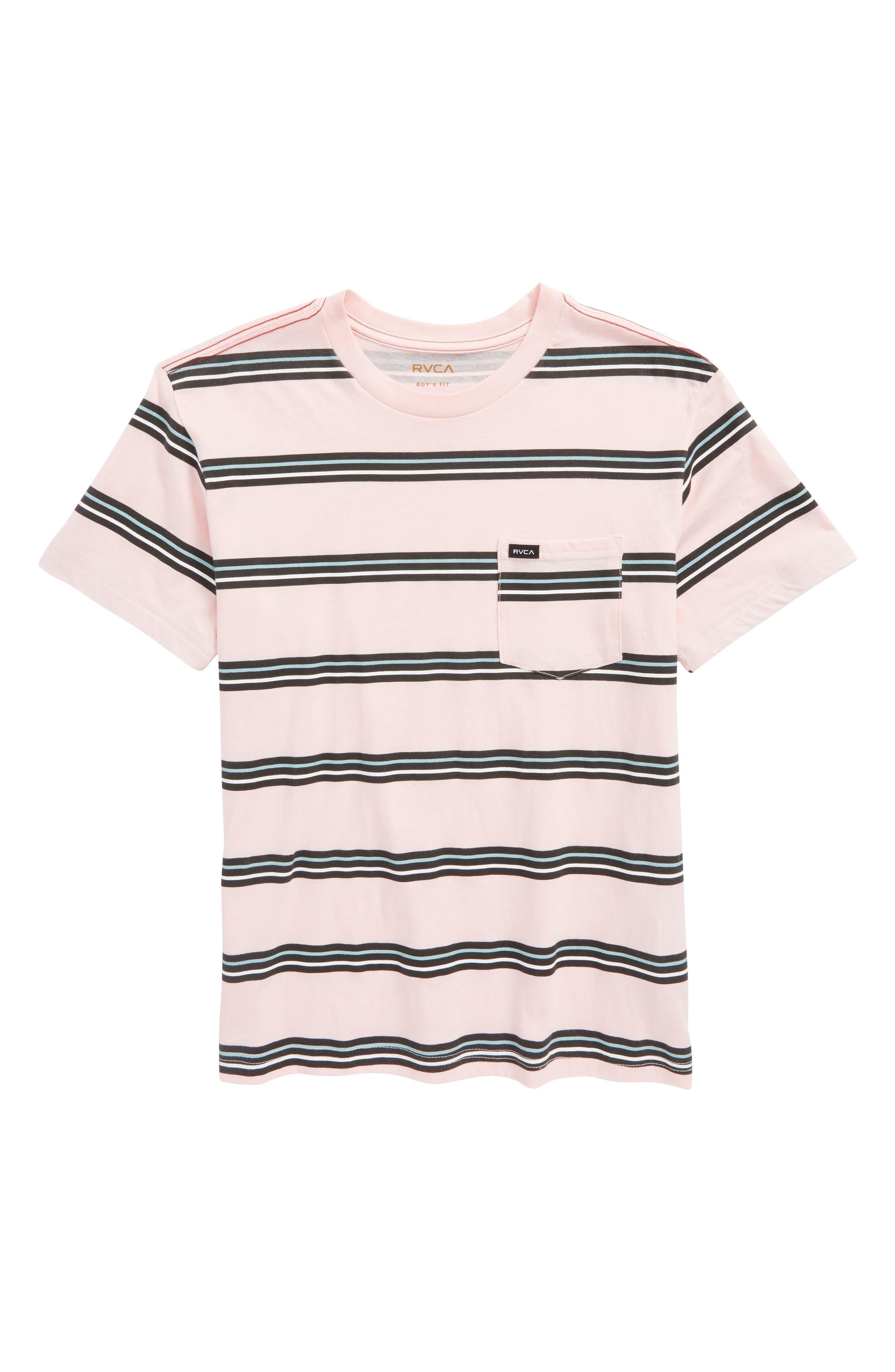 Success Stripe T-Shirt,                             Main thumbnail 1, color,                             Gum