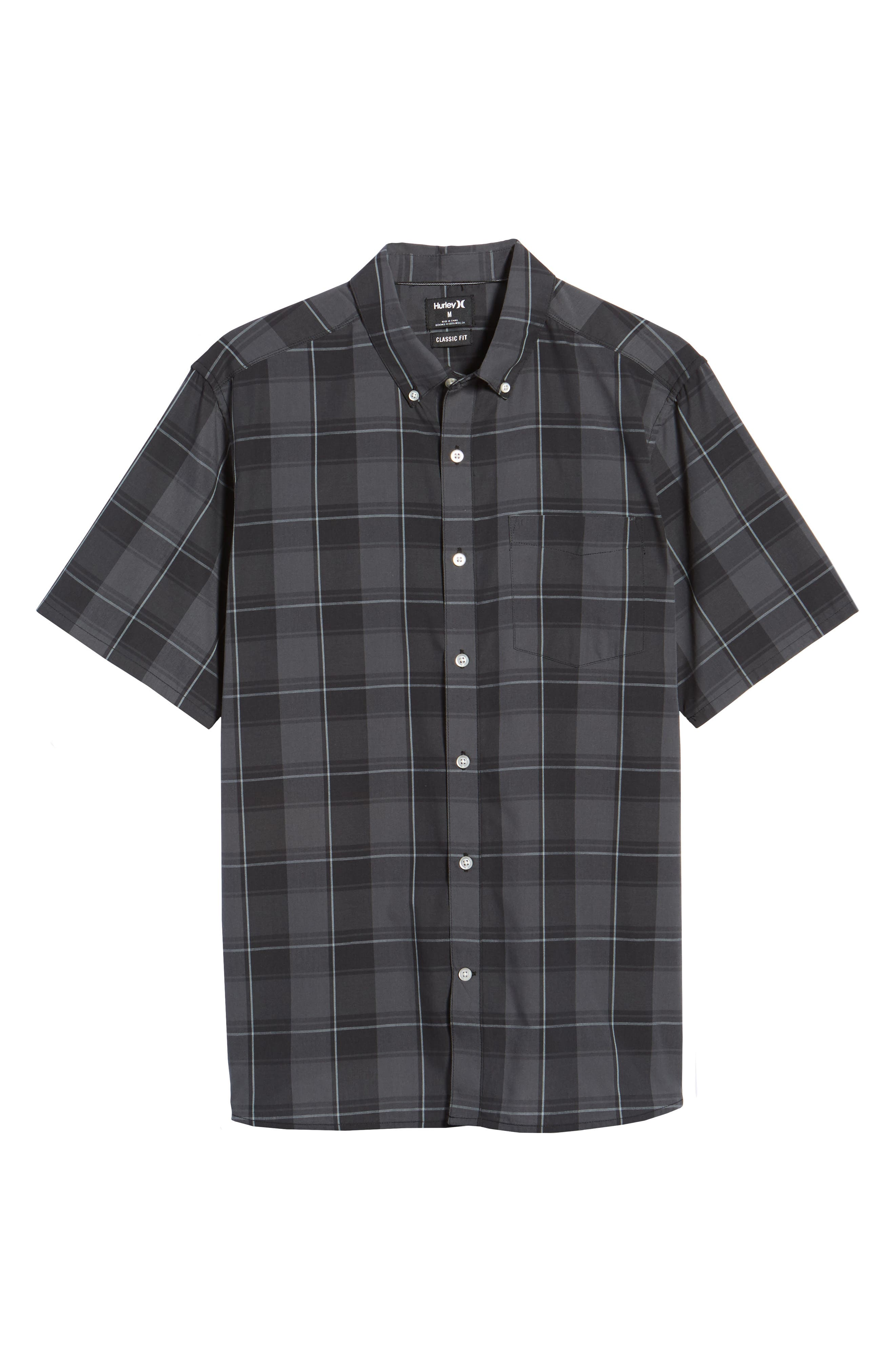 Dri-FIT Castell Shirt,                             Alternate thumbnail 6, color,                             Black