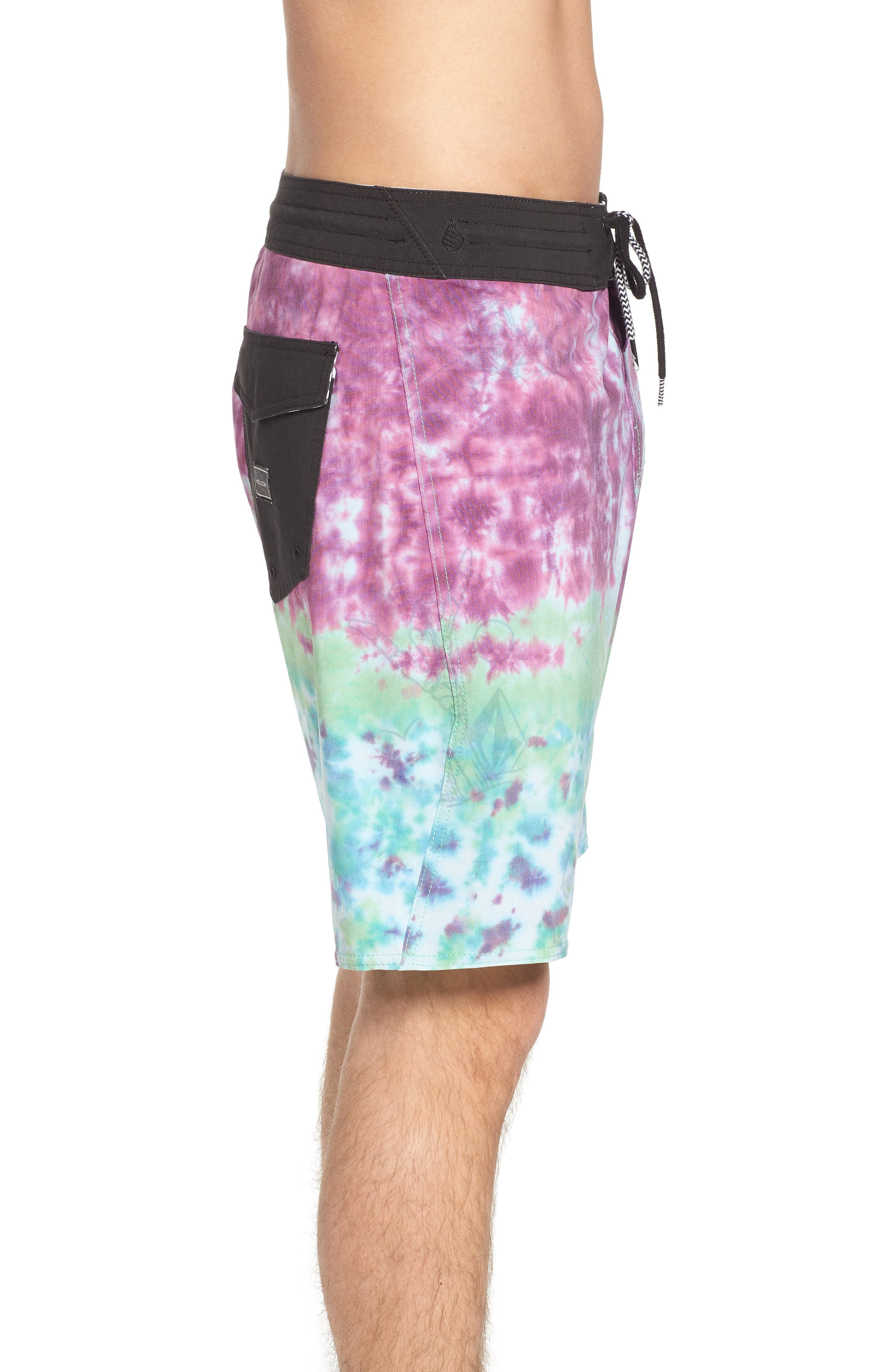 Chill Out Stoney Board Shorts,                             Alternate thumbnail 3, color,                             Multi