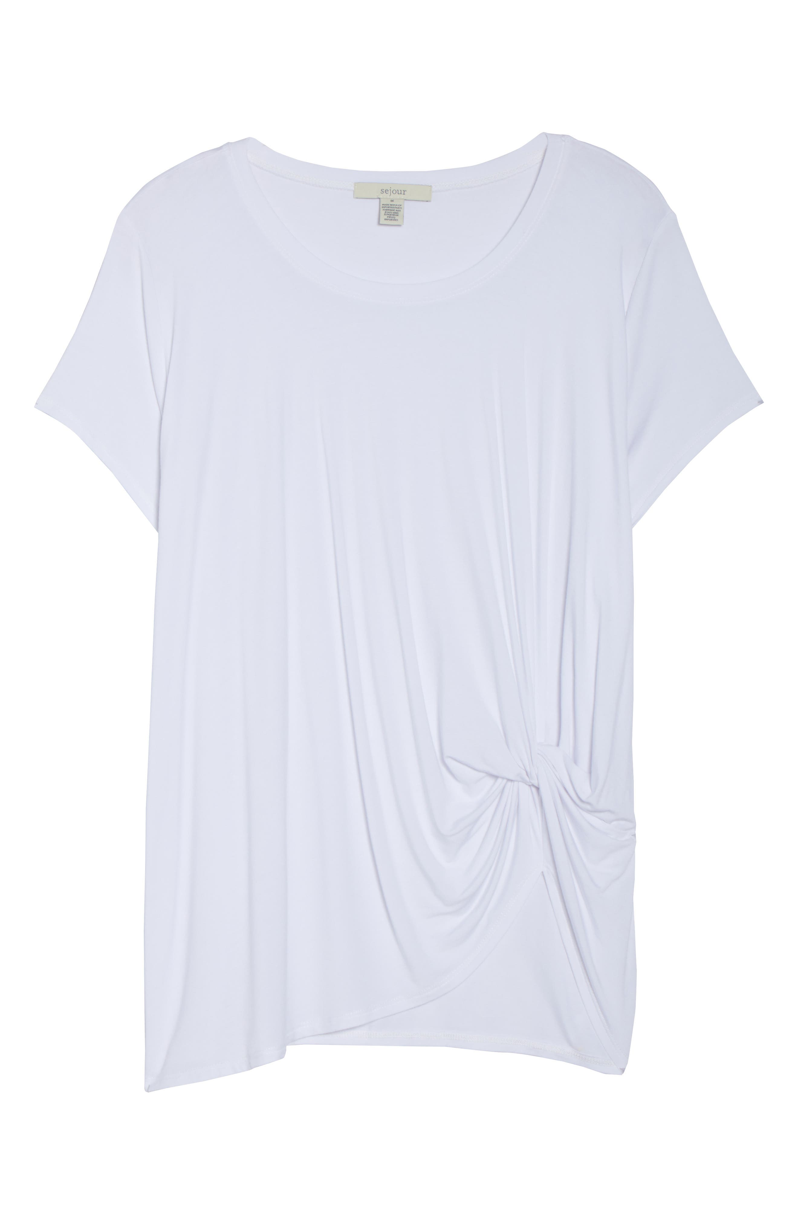 Cinch Tee,                             Alternate thumbnail 6, color,                             White