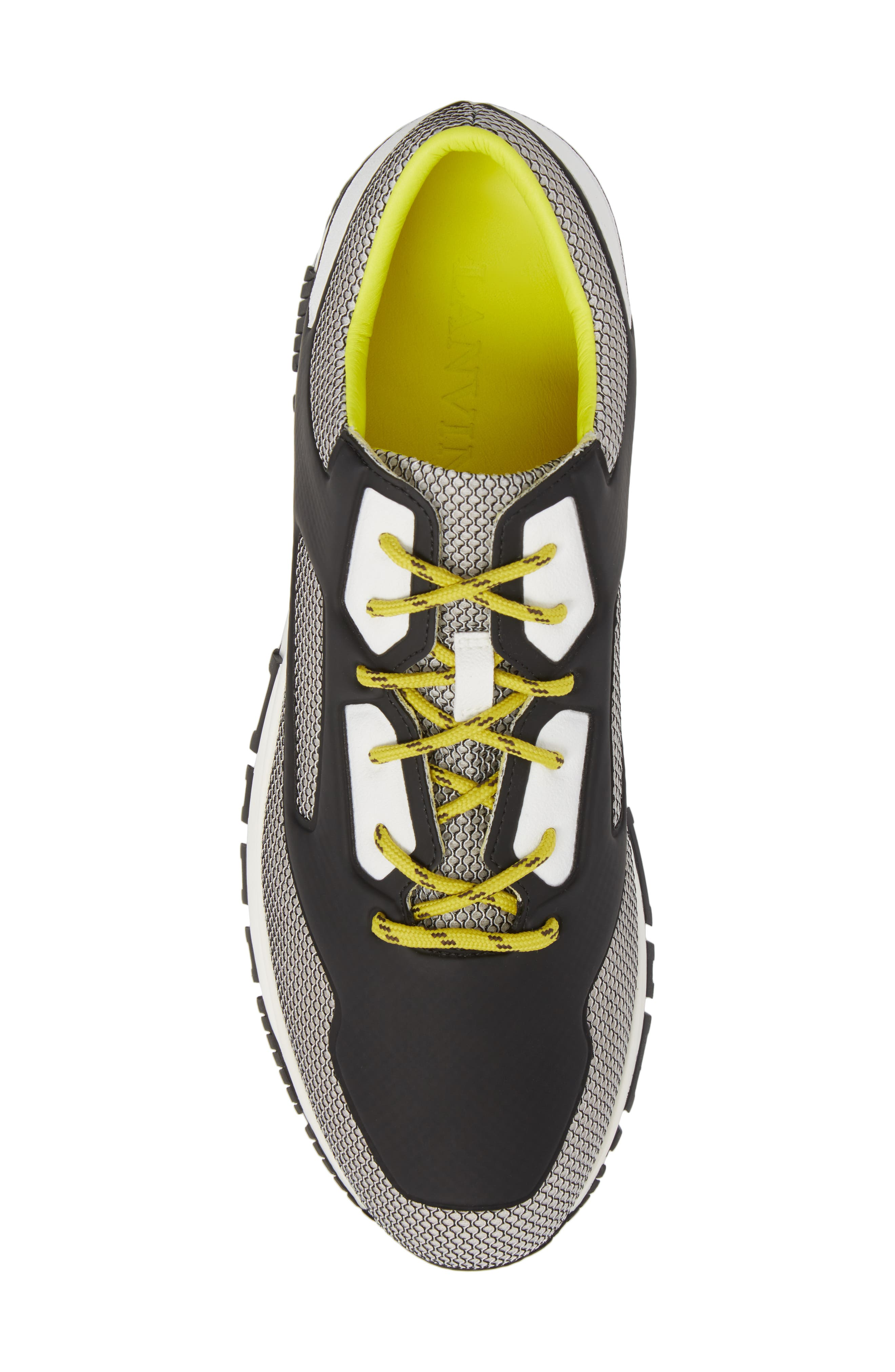 High Frequency Mesh Running Shoe,                             Alternate thumbnail 5, color,                             Grey