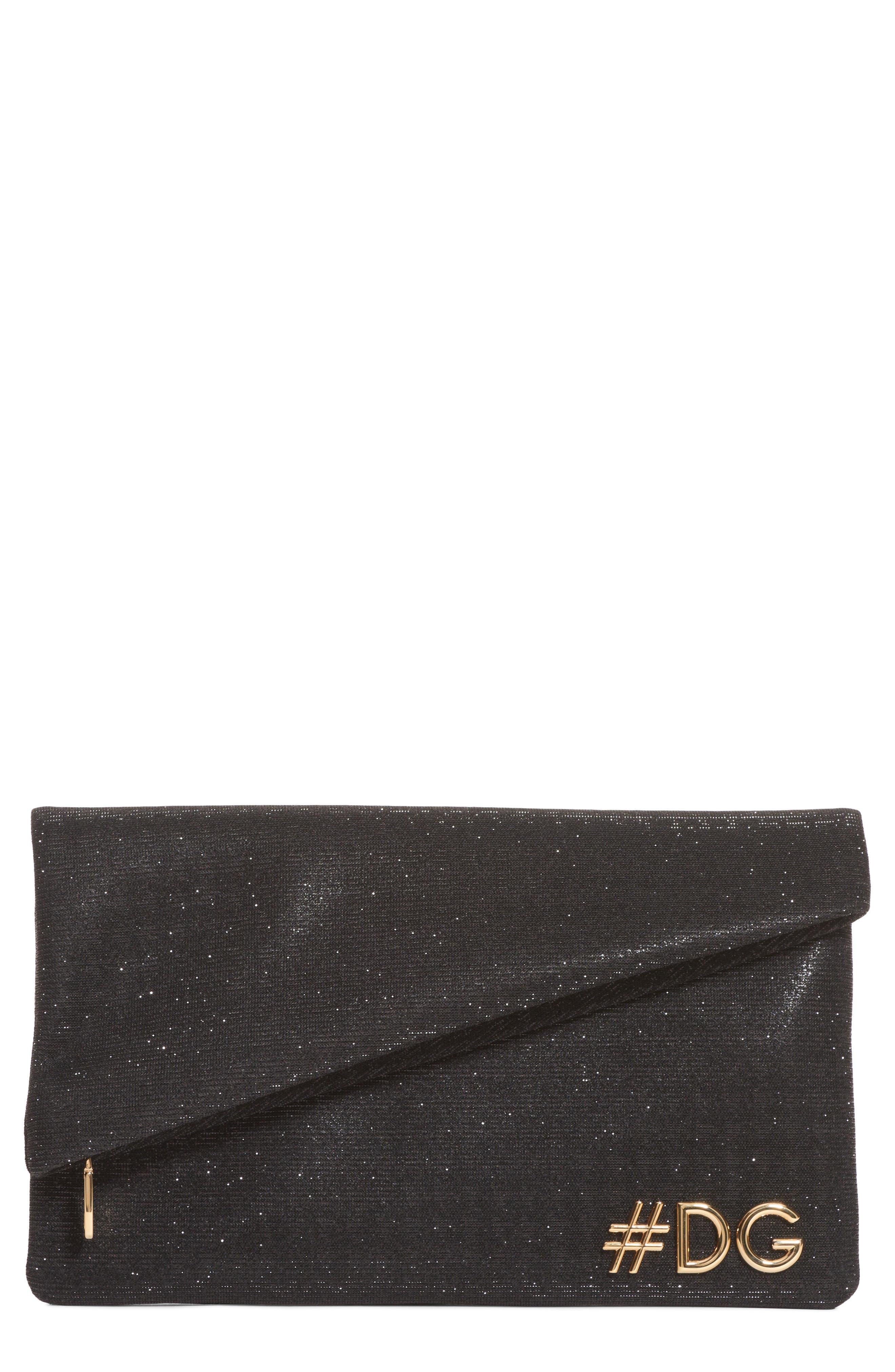 Dolce&Gabbana Hashtag Foldover Clutch