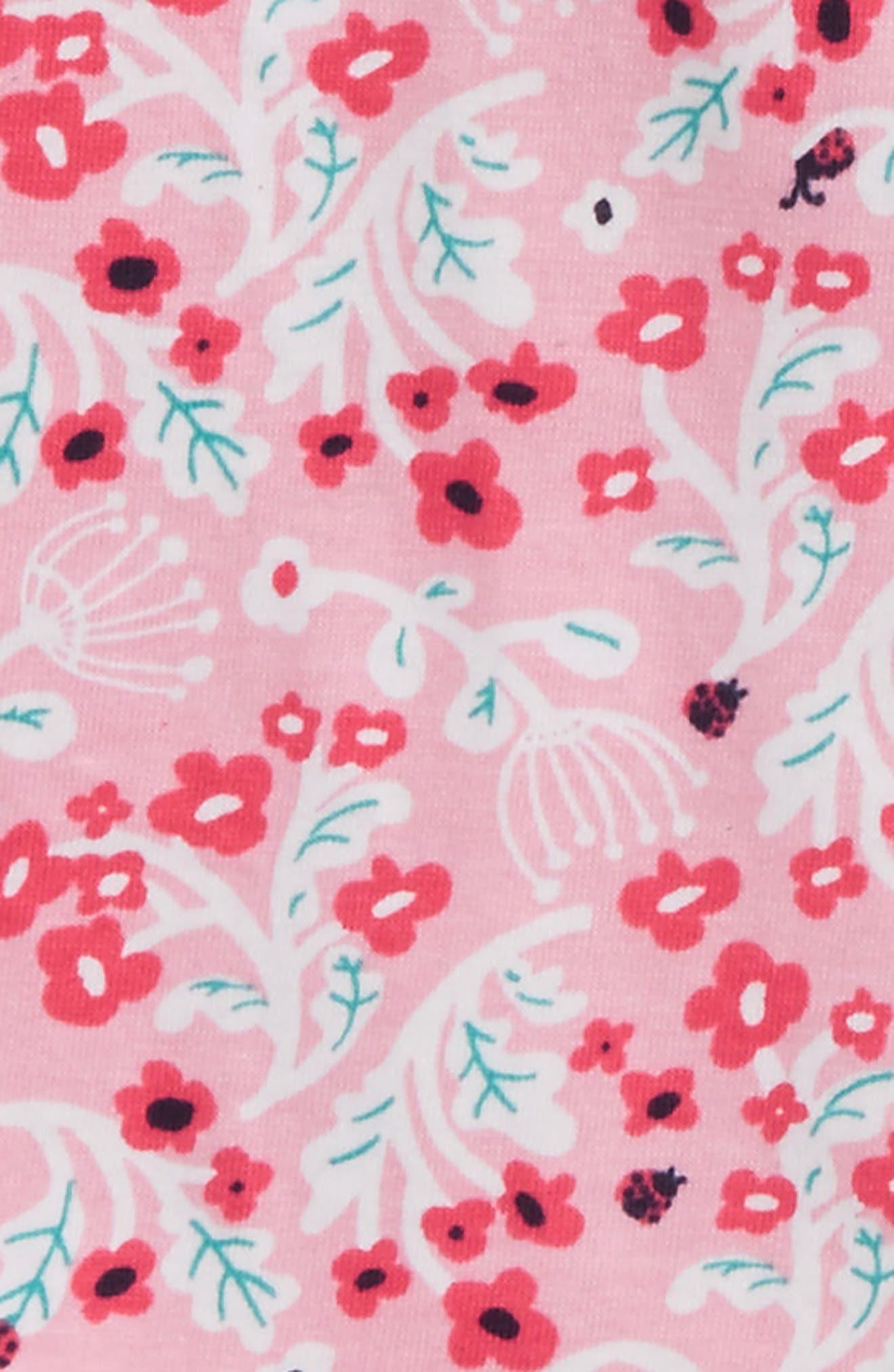 Flutter Sleeve Dress,                             Alternate thumbnail 2, color,                             Umbel Floral