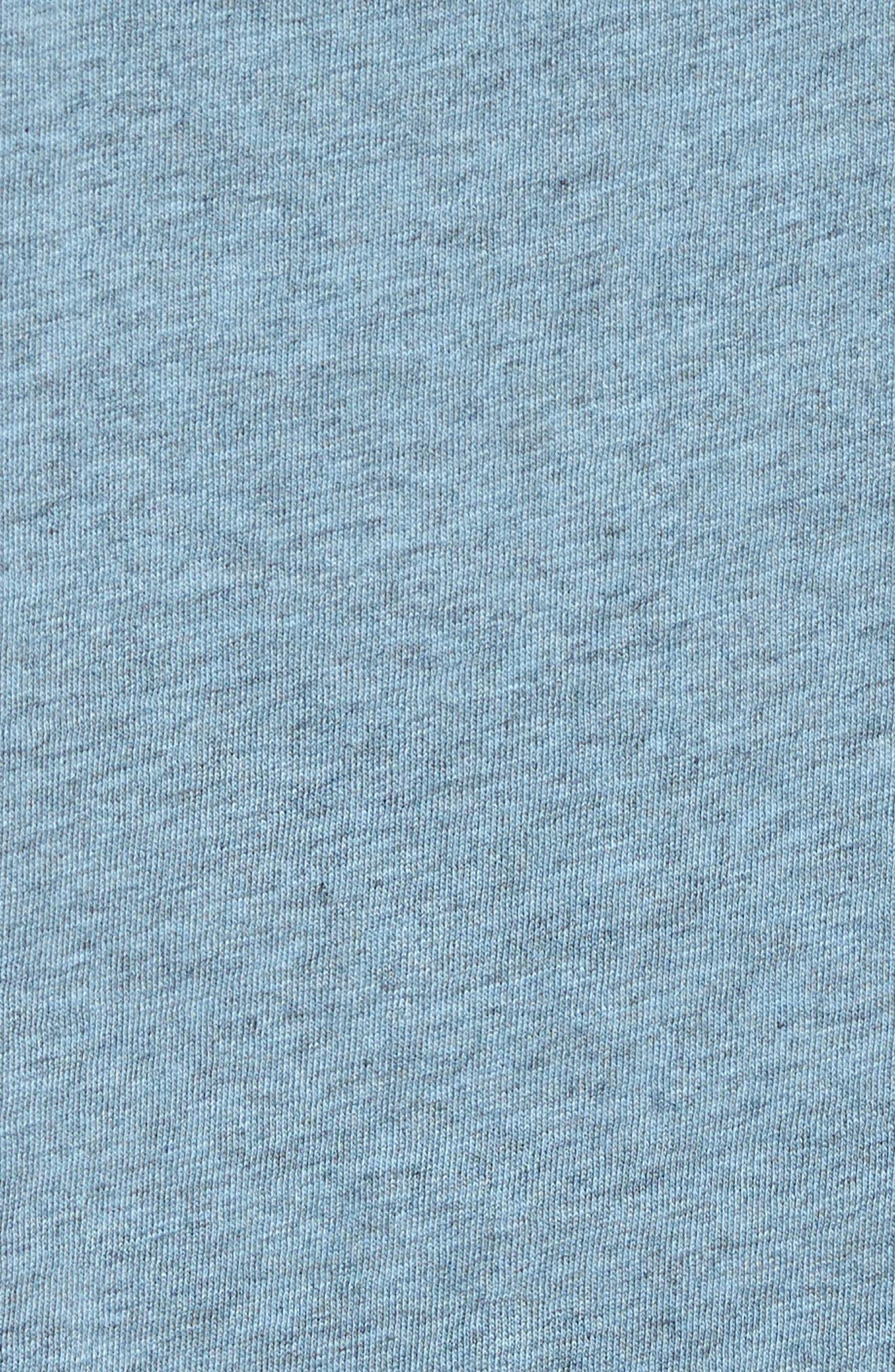 Bens Slim Fit Ringer T-Shirt,                             Alternate thumbnail 5, color,                             Overdyed Ashley Blue