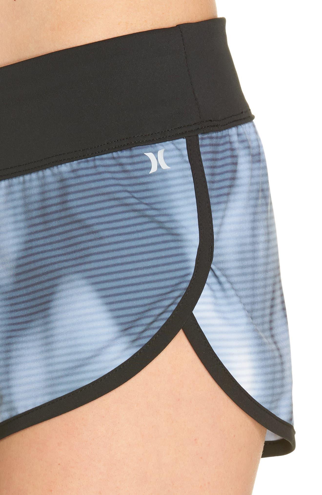 Phantom Waves Beachrider Shorts,                             Alternate thumbnail 4, color,                             Squadron Blue