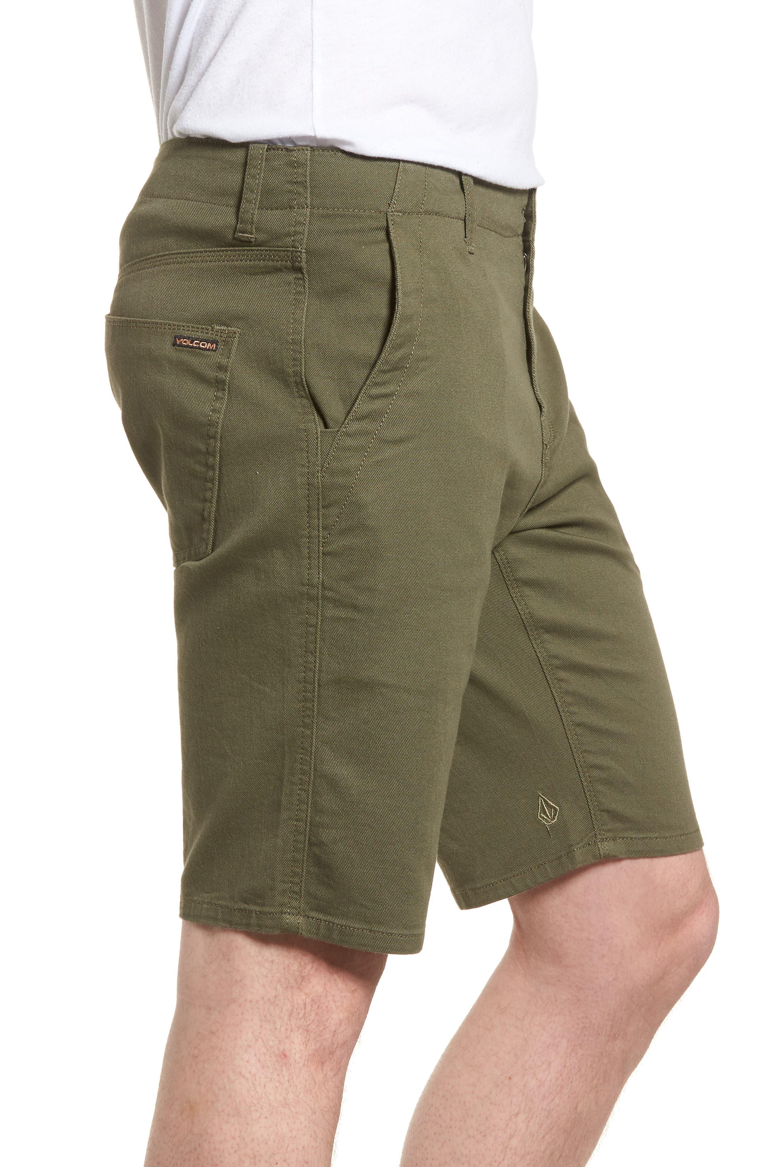 VSM Prowler Shorts,                             Alternate thumbnail 3, color,                             Military