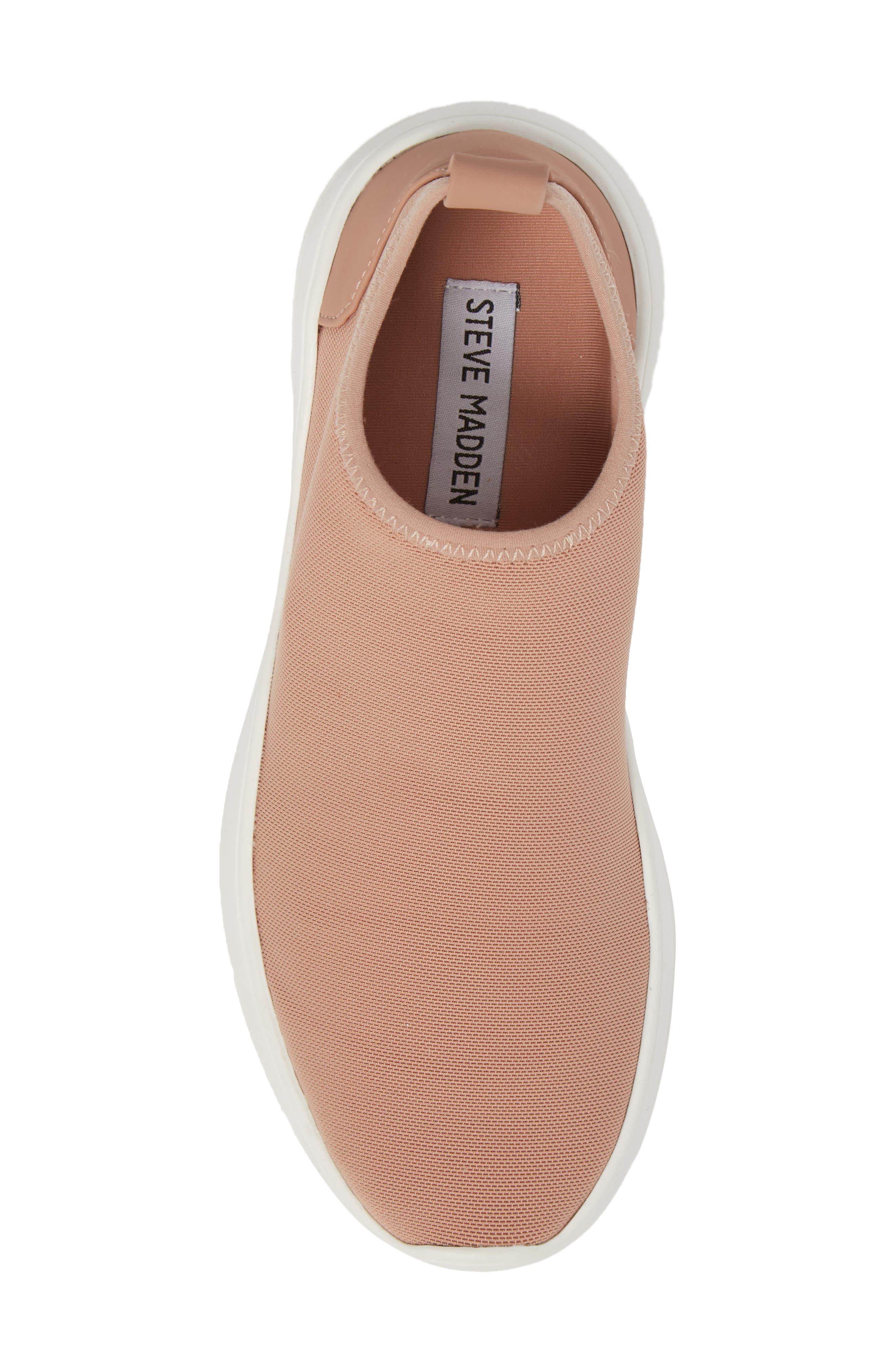 Floren Slip-On Sneaker,                             Alternate thumbnail 5, color,                             Blush