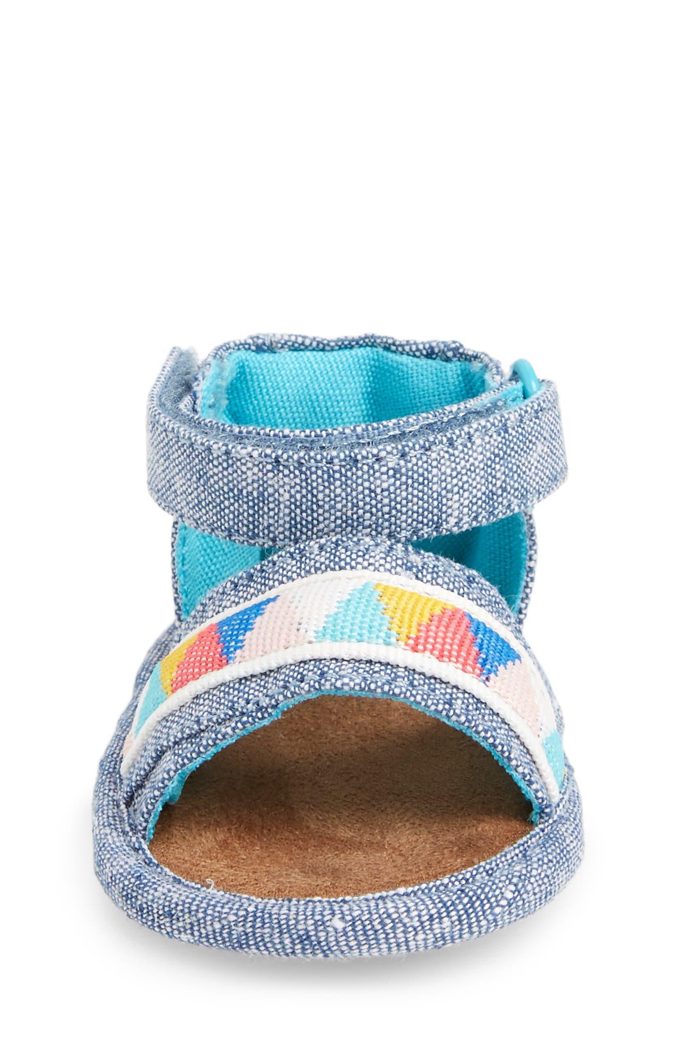 Alternate Image 4  - TOMS Shiloh Sandal (Baby)