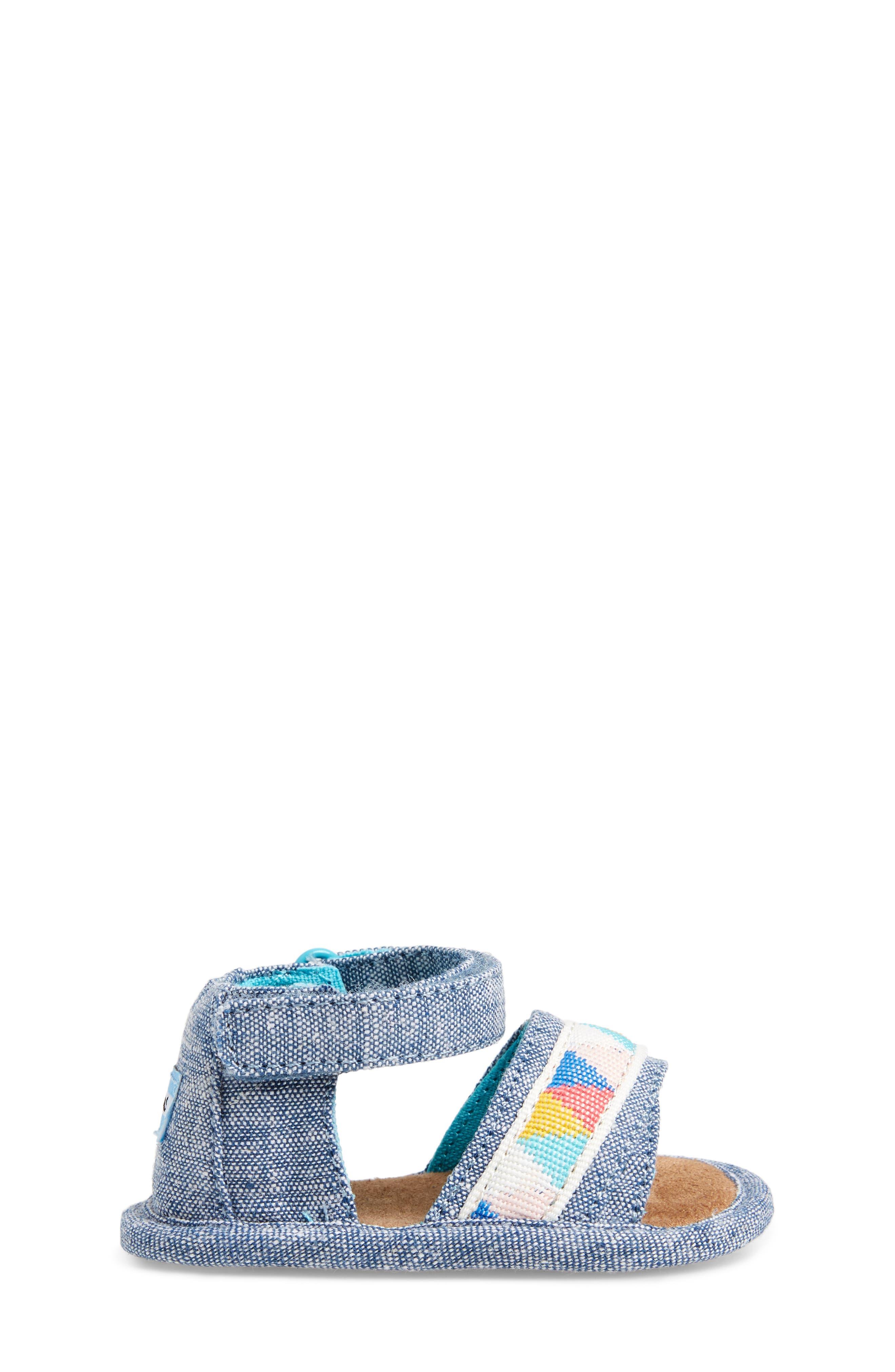 Alternate Image 3  - TOMS Shiloh Sandal (Baby)