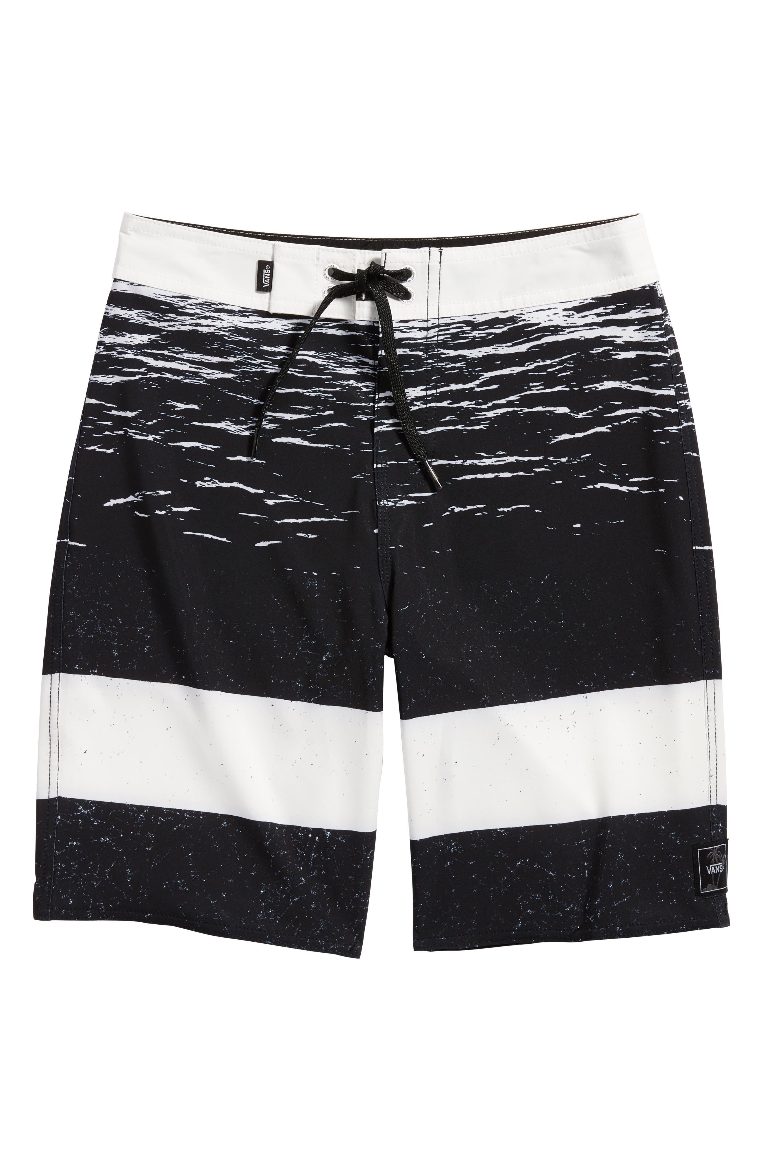 Era Board Shorts,                             Main thumbnail 1, color,                             White Dark Water