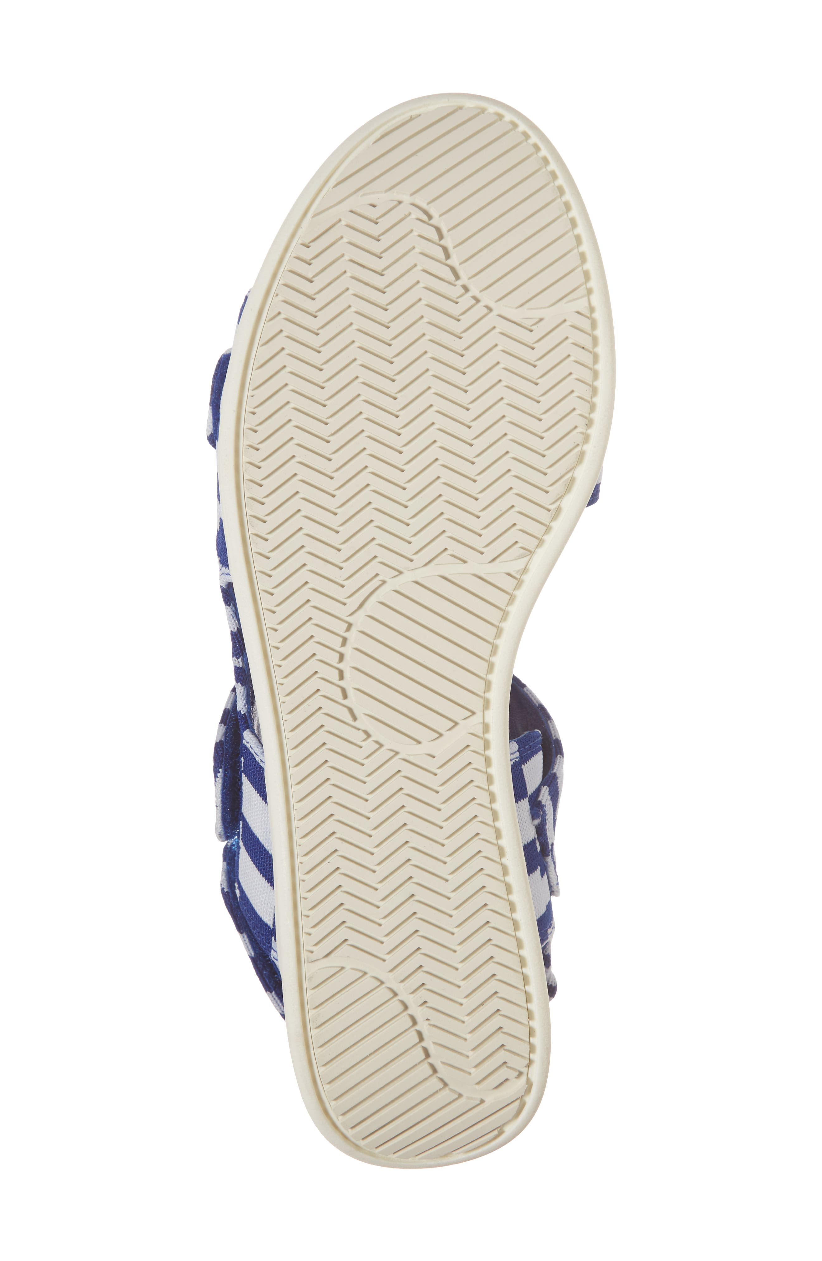 Flatform Sandal,                             Alternate thumbnail 6, color,                             Check Slalom Blue
