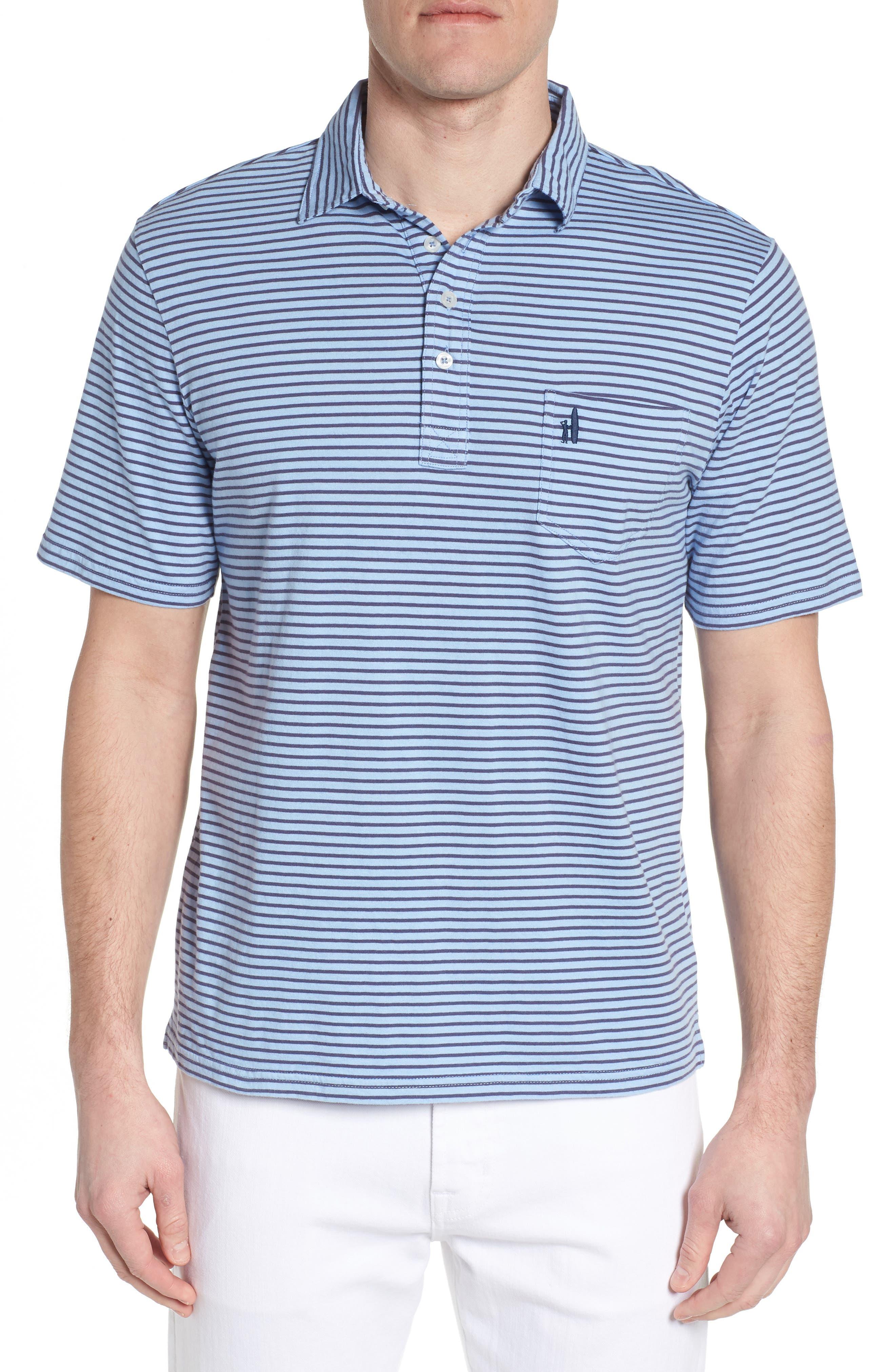 Macon Regular Fit Stripe Polo,                             Main thumbnail 1, color,                             Vista