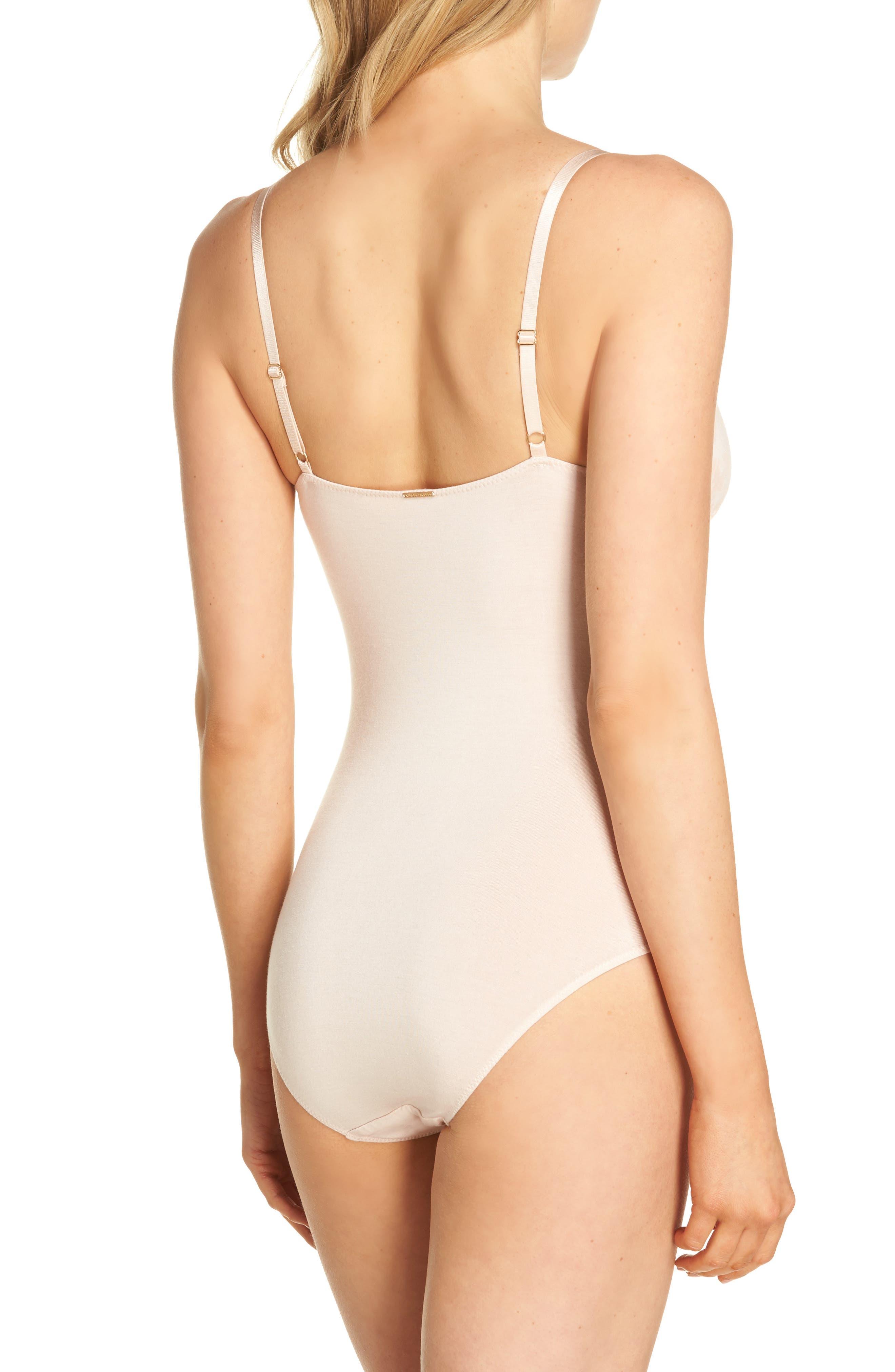 Gia Bodysuit,                             Alternate thumbnail 2, color,                             Ballet Slipper