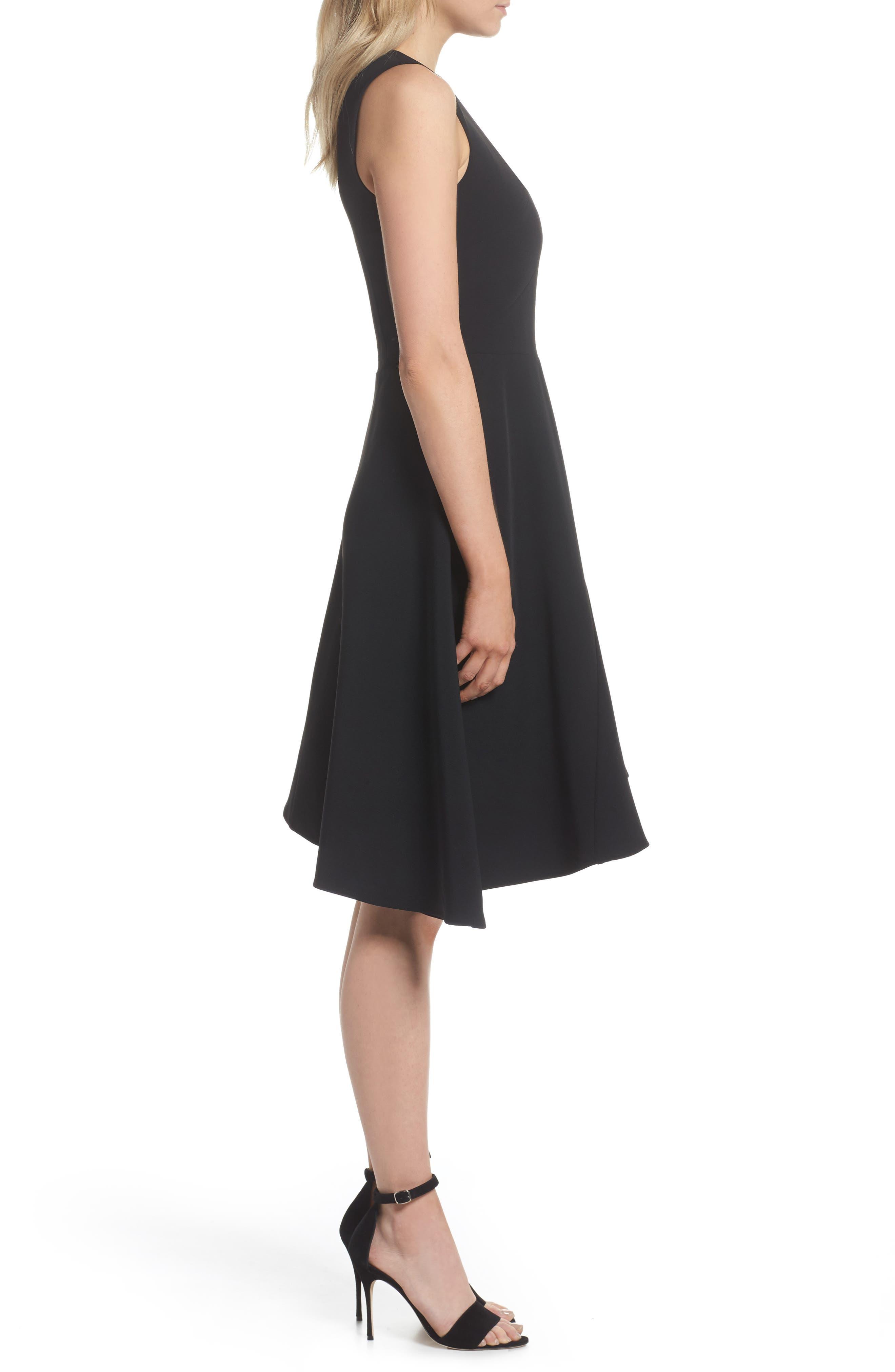 Alternate Image 3  - Adelyn Rae Bonnie Asymmetrical Fit & Flare Dress