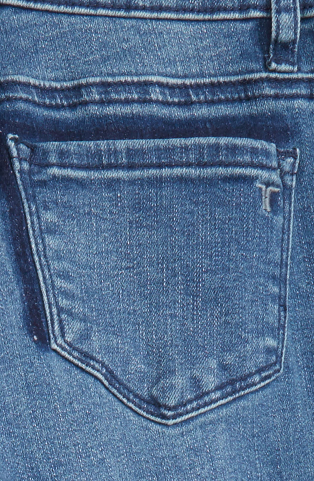 Crop Skinny Jeans,                             Alternate thumbnail 2, color,                             Indigo