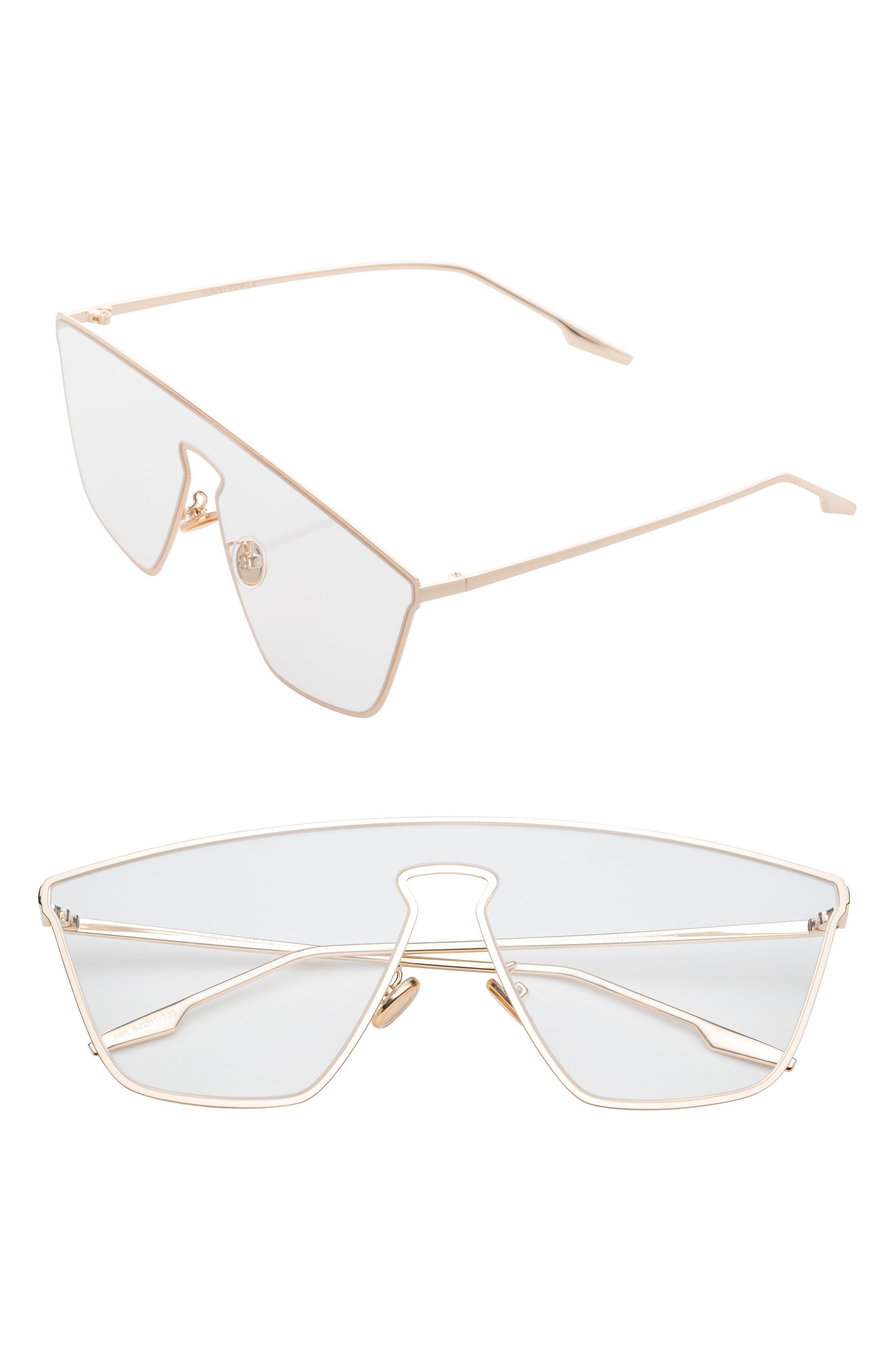 Sunnyside LA Irregular 65mm Clear Glasses