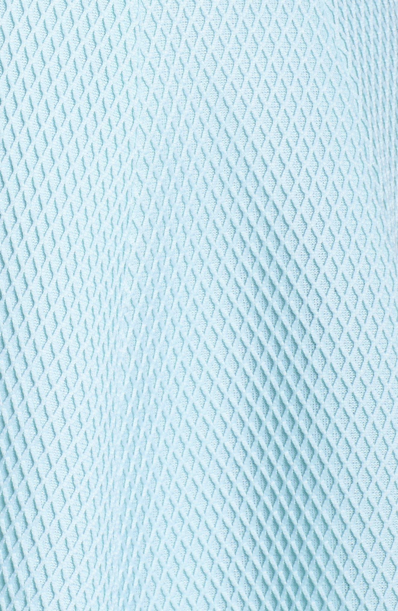 Fit & Flare Dress,                             Alternate thumbnail 6, color,                             Mint