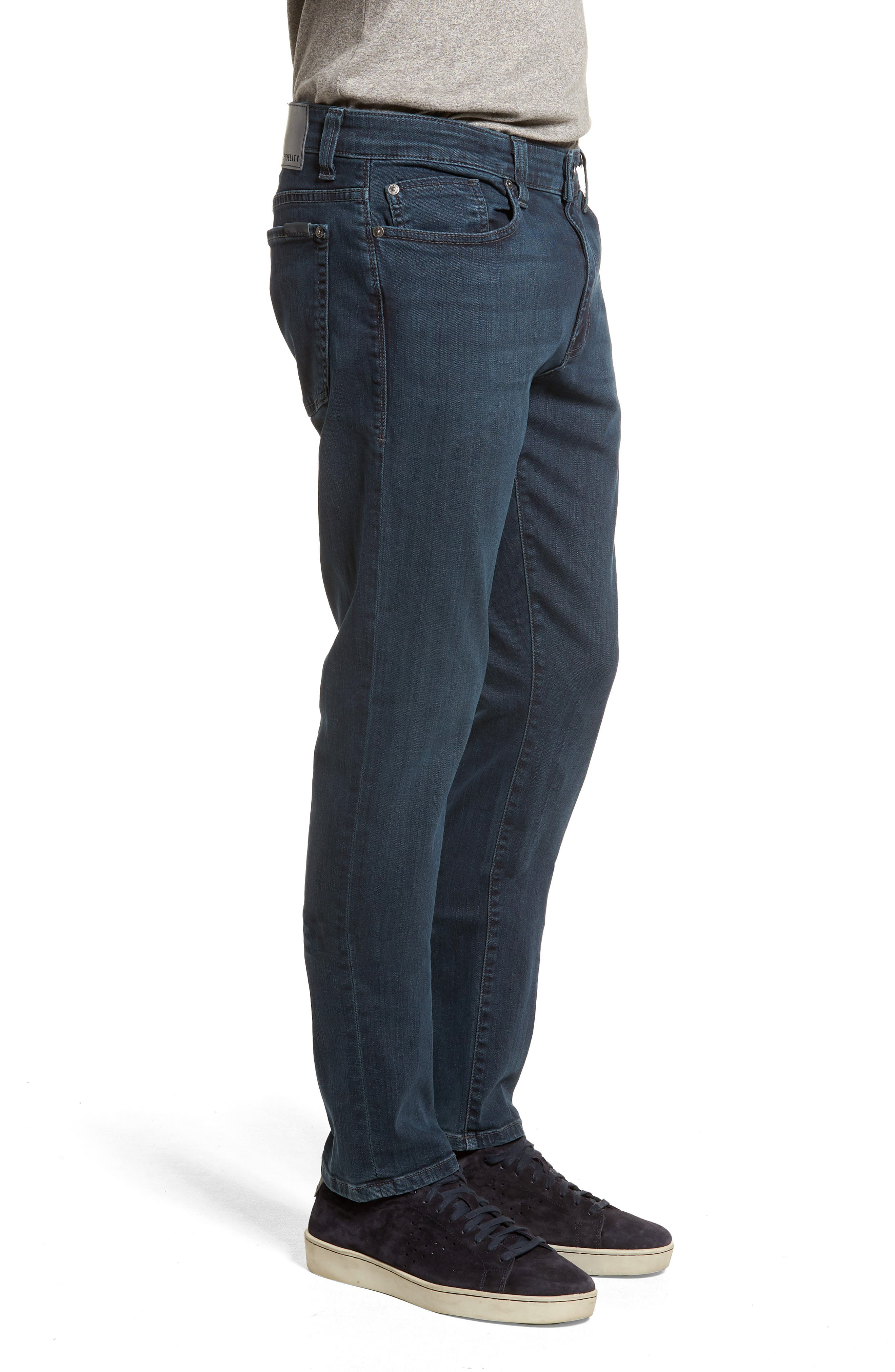 Alternate Image 3  - Fidelity Denim Torino Slim Fit Jeans (Manchester)