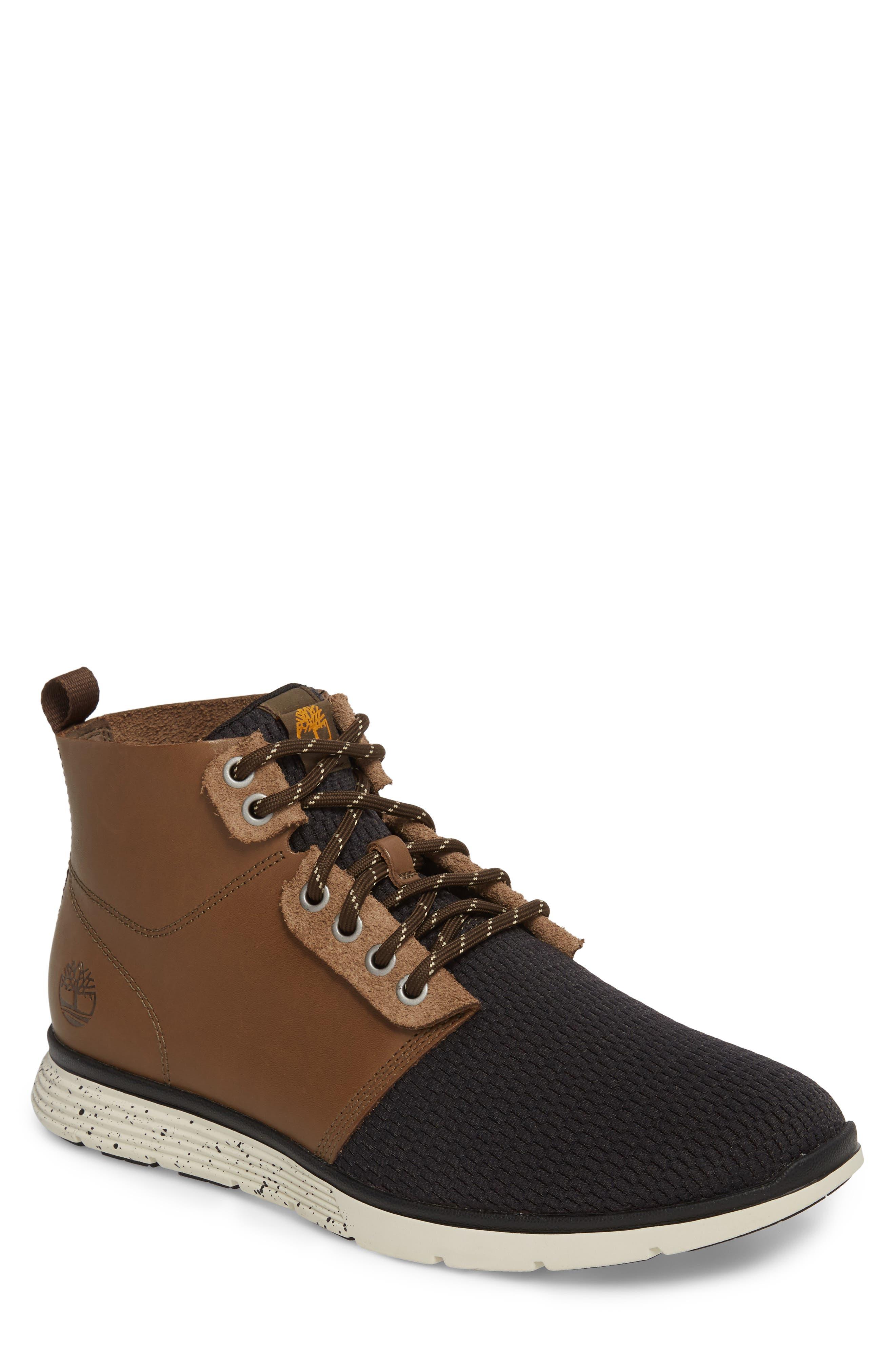 Killington Plain Toe Boot,                             Main thumbnail 1, color,                             Buckskin Leather