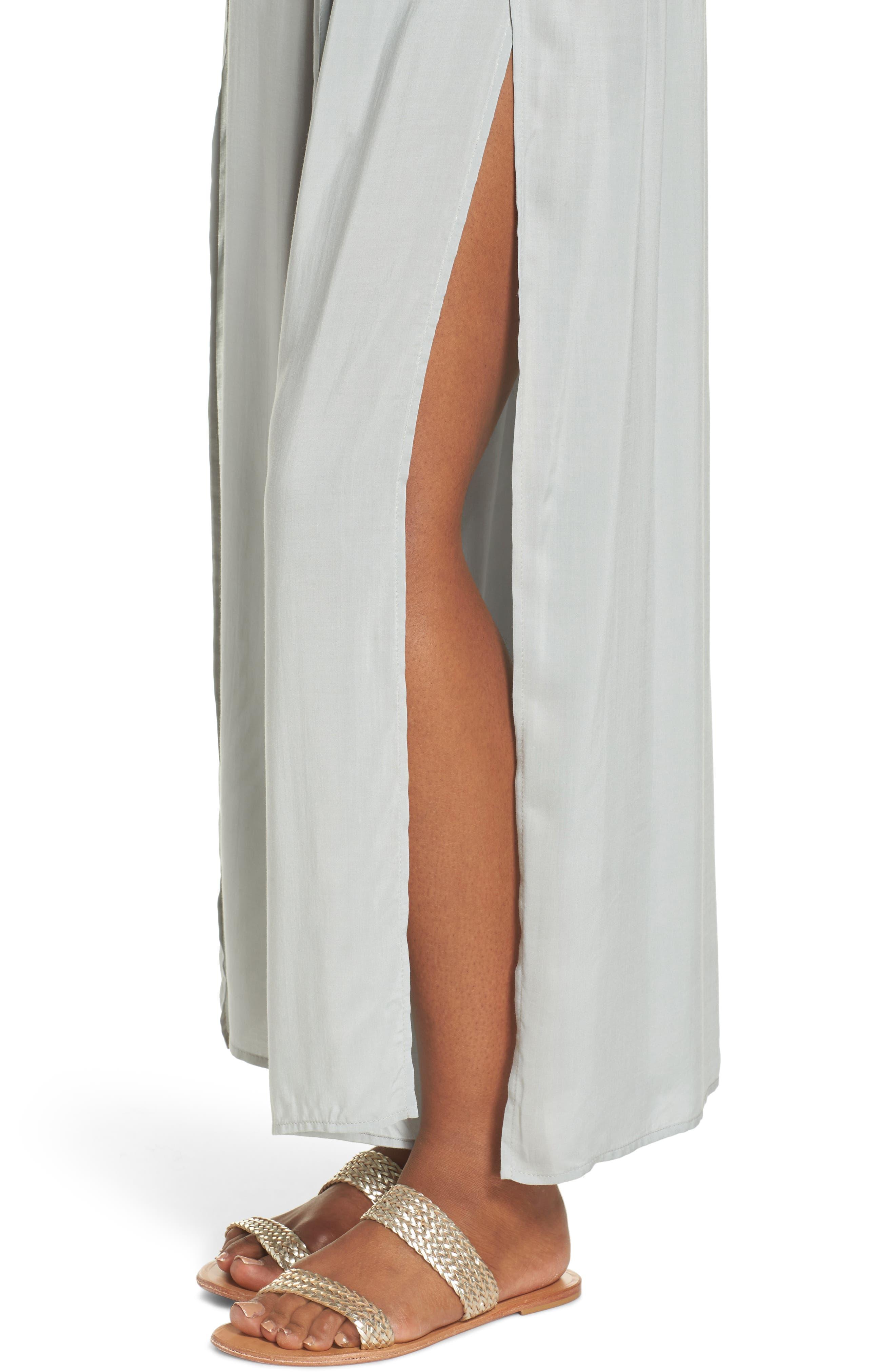 Cover-Up Flyaway Pants,                             Alternate thumbnail 4, color,                             Seafoam
