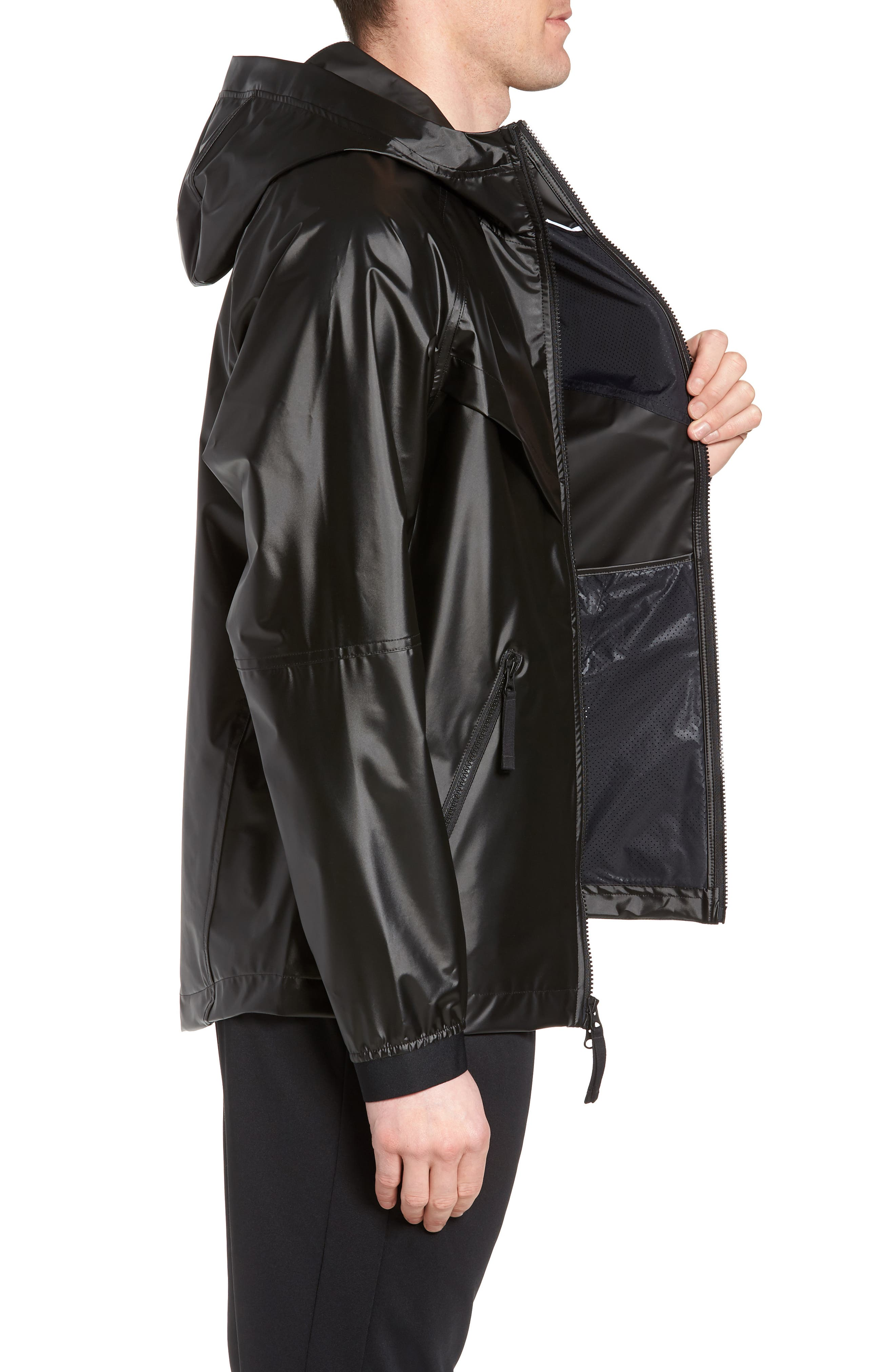 NSW Jacket,                             Alternate thumbnail 3, color,                             Black