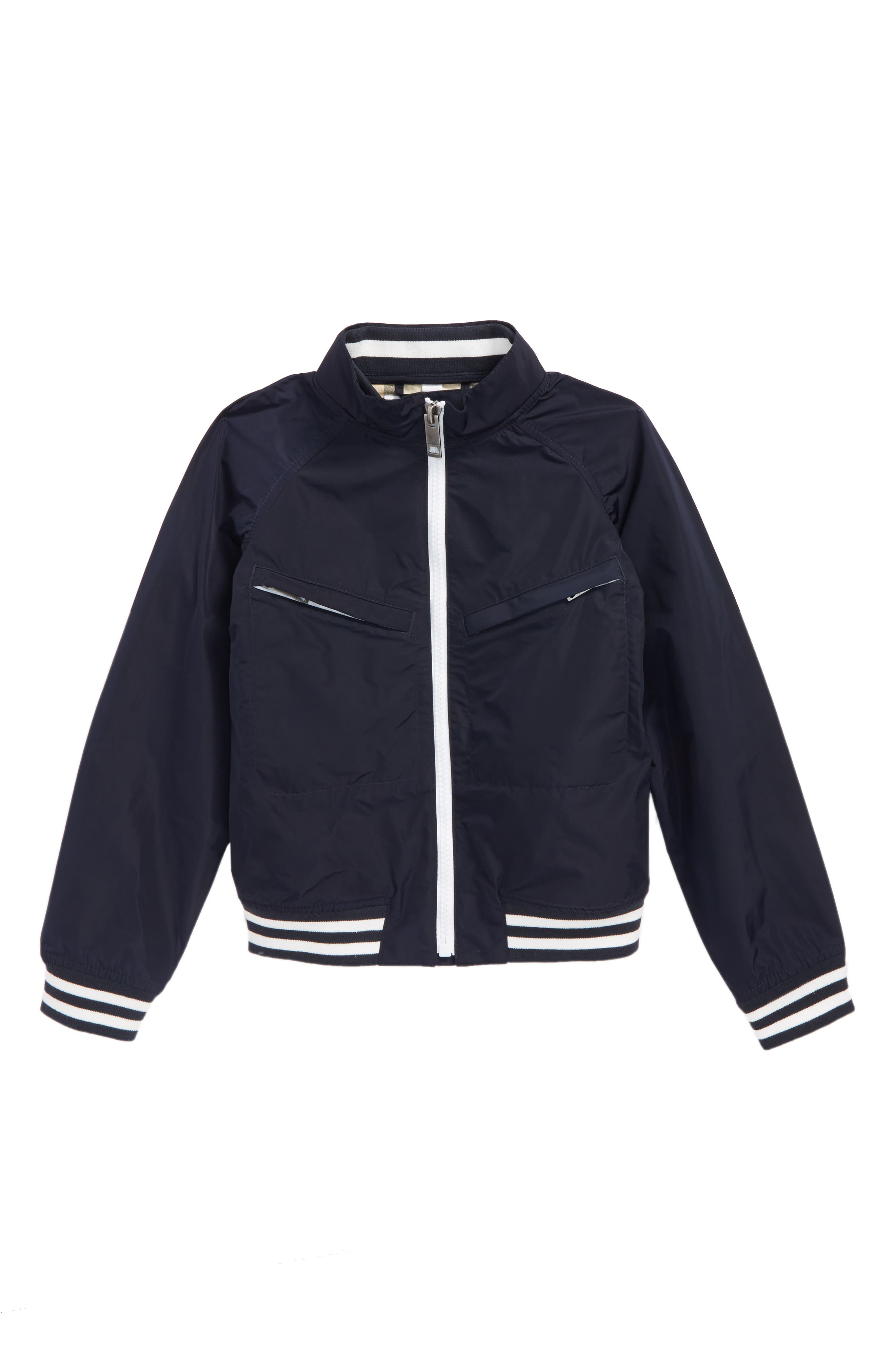 Jez Bomber Jacket,                         Main,                         color, Navy