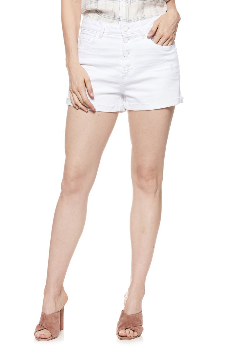 Sarah High Waist Denim Shorts