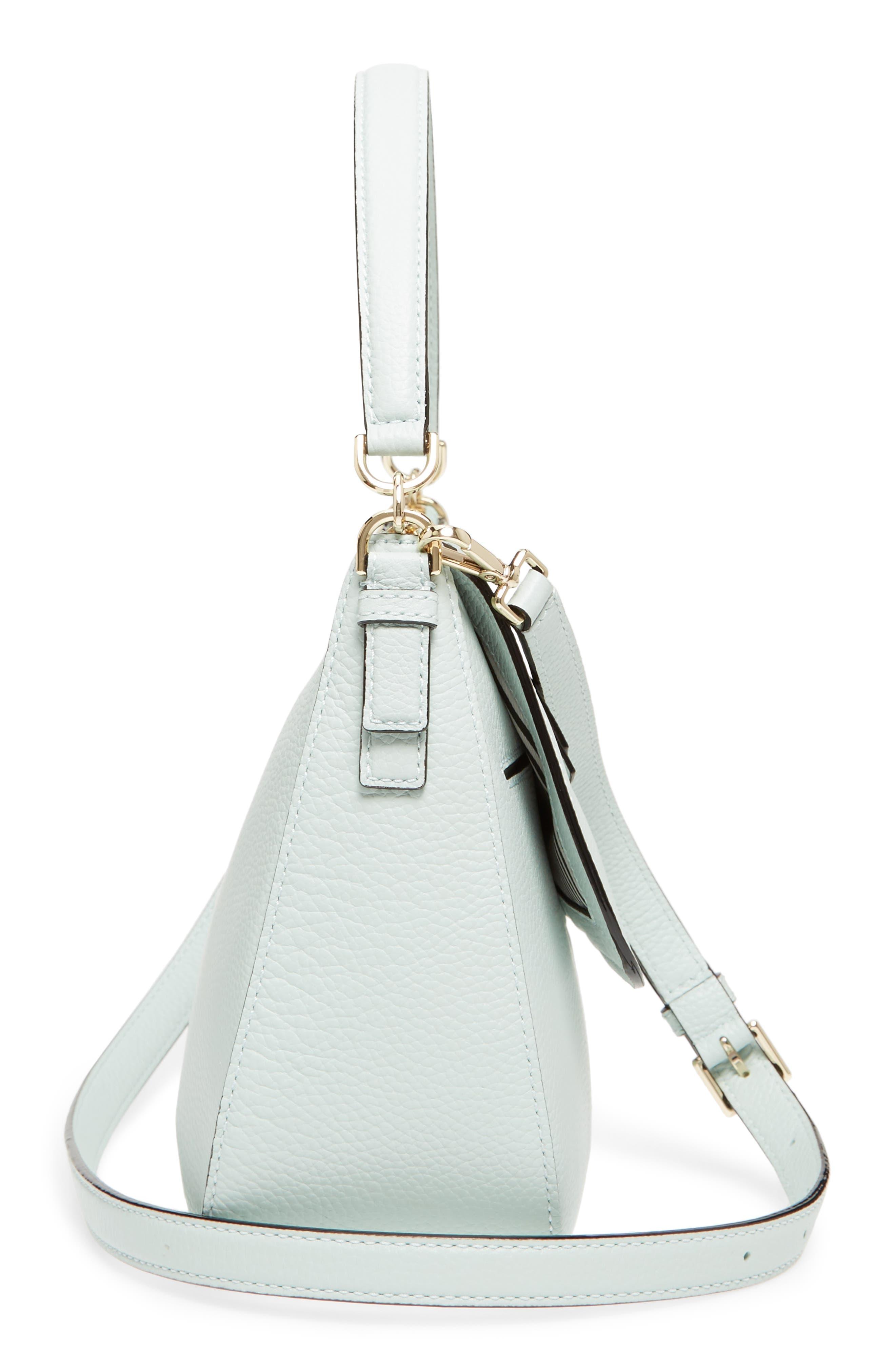 jackson street - colette leather satchel,                             Alternate thumbnail 2, color,                             Misty Mint