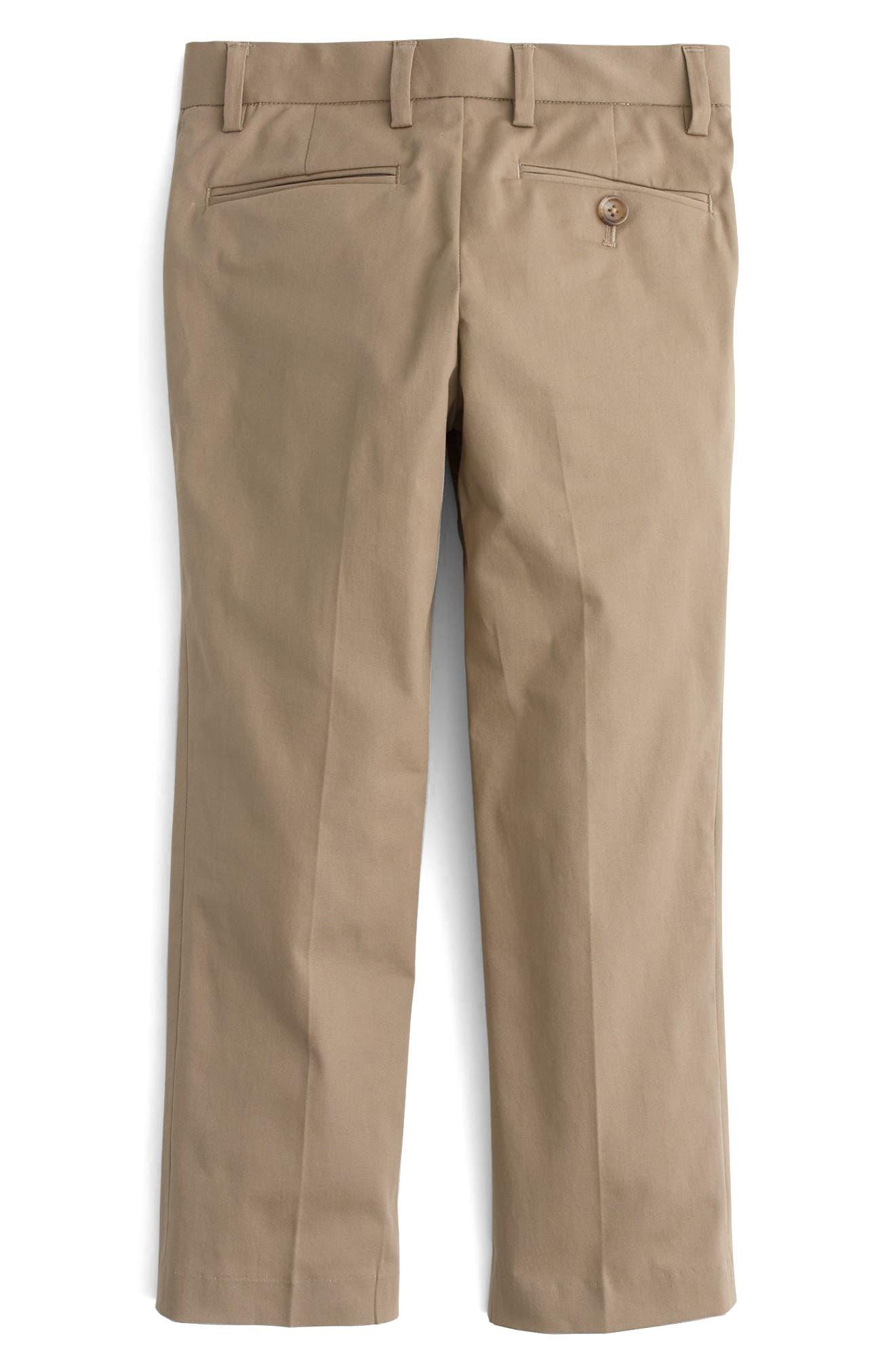 Ludlow Suit Pants,                             Alternate thumbnail 2, color,                             Khaki